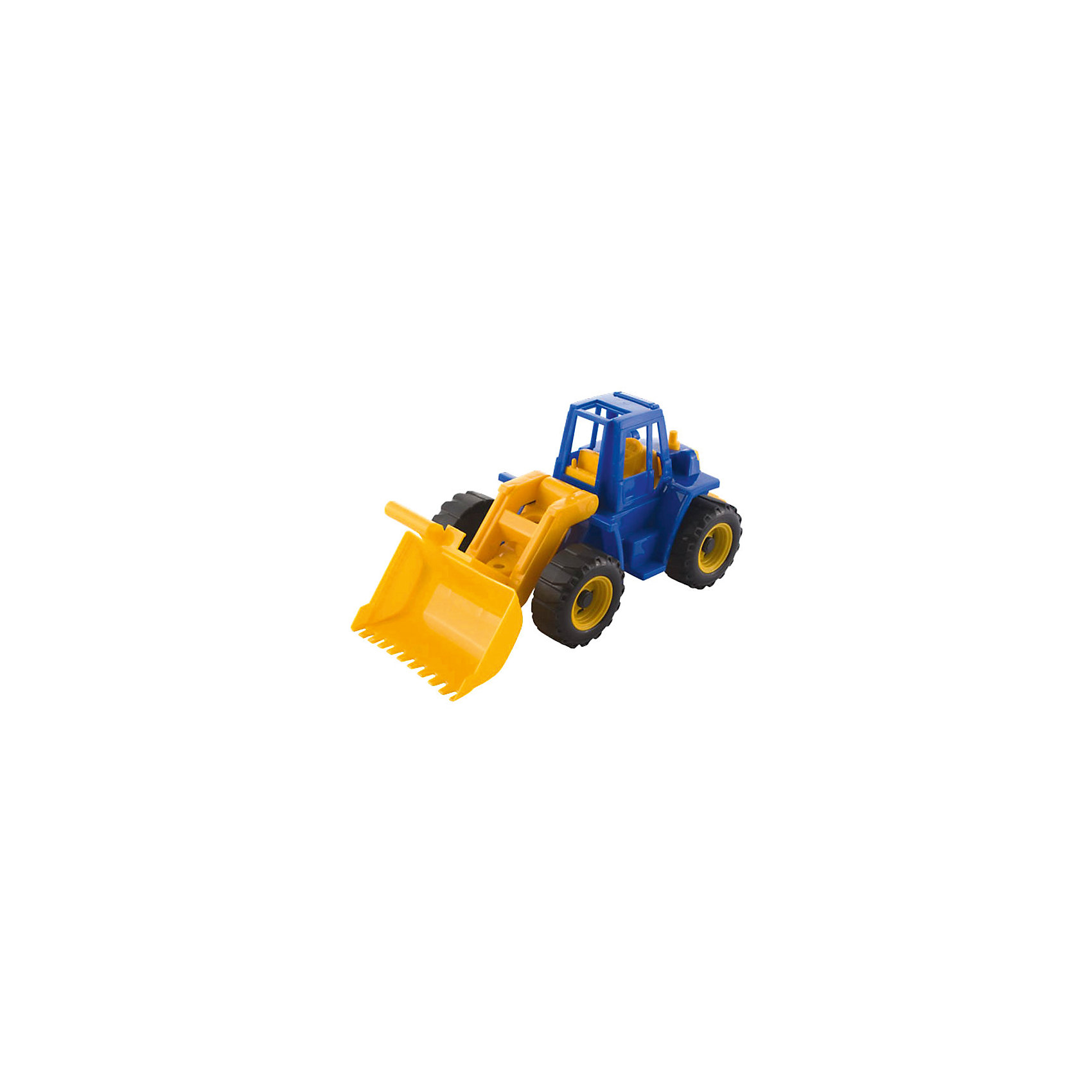 Трактор Ангара с грейдером, НордпластМашинки<br>Трактор Ангара с грейдером, Нордпласт – это яркая пластмассовая машина, которой интересно будет играть вашему мальчику.<br>Яркий большой трактор Ангара от компании Нордпласт прекрасно подойдет для игр, как в помещении, так и на улице. У трактора большой грейдер, который опускается и поднимается. С помощью грейдера можно копать траншеи, строить и убирать дороги и придумать много интересных и увлекательных игр. А в строительстве песочных замков, домов или плотин он станет незаменим! В кабине трактора есть сиденье, и в нее можно посадить маленькую фигурку водителя. Две пары крупных рефренных колес обеспечивается отличное сцепление с поверхностью, а значит, трактор может преодолеть даже самые «непроходимые» песочные горки. Игрушка изготовлена из высококачественной пищевой пластмассы, без трещин и заусениц, поэтому во время эксплуатации выдержит многие детские шалости. Она покрыта нетоксичной краской, не облупливающейся и не выгорающей на солнце. Товар соответствует требованиям стандарта для детских игрушек и имеет сертификат качества.<br><br>Дополнительная информация:<br><br>- Материал: высококачественная пластмасса<br>- Размер: 16х16х,35,5 см.<br>- Вес: 360 гр.<br><br>Трактор Ангара с грейдером, Нордпласт можно купить в нашем интернет-магазине.<br><br>Ширина мм: 355<br>Глубина мм: 160<br>Высота мм: 160<br>Вес г: 360<br>Возраст от месяцев: 36<br>Возраст до месяцев: 72<br>Пол: Мужской<br>Возраст: Детский<br>SKU: 4112741