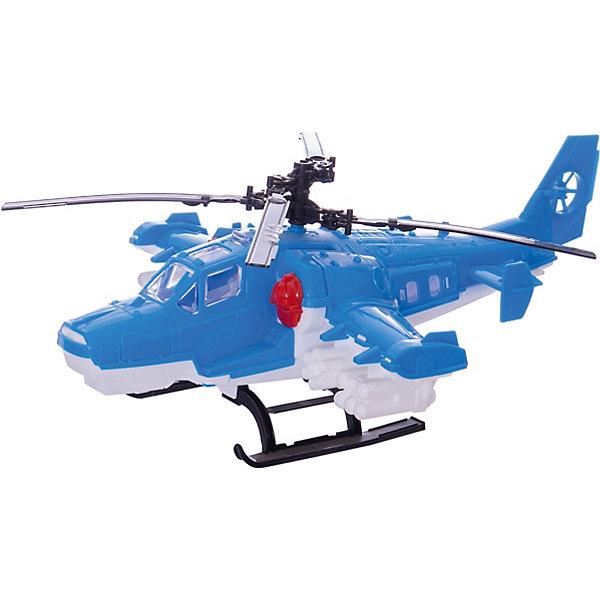 Вертолет Полиция, НордпластСамолёты и вертолёты<br>Вертолет Полиция, Нордпласт - это яркий пластмассовый вертолет, которым интересно будет играть вашему мальчику.<br>Вертолет Полиция от компании Нордпласт обязательно понравится любому мальчику! Все элементы игрушки очень детально проработаны и максимально приближены к реальной модели вертолета. Лопасти игрушки крутятся, открывается грузовой люк, что позволяет провозить в нем мелкий груз, например игрушечных солдатиков. Игрушка изготовлена из высококачественной пищевой пластмассы, без трещин и заусениц, поэтому во время эксплуатации выдержит многие детские шалости. Она покрыта нетоксичной краской, не облупливающейся и не выгорающей на солнце. Товар соответствует требованиям стандарта для детских игрушек и имеет сертификат качества.<br><br>Дополнительная информация:<br><br>- Материал: высококачественная пластмасса<br>- Размер: 40 х 15,5 х 27 см.<br>- Вес: 290 гр.<br><br>Вертолет Полиция, Нордпласт можно купить в нашем интернет-магазине.<br><br>Ширина мм: 155<br>Глубина мм: 270<br>Высота мм: 400<br>Вес г: 290<br>Возраст от месяцев: 36<br>Возраст до месяцев: 72<br>Пол: Мужской<br>Возраст: Детский<br>SKU: 4112744