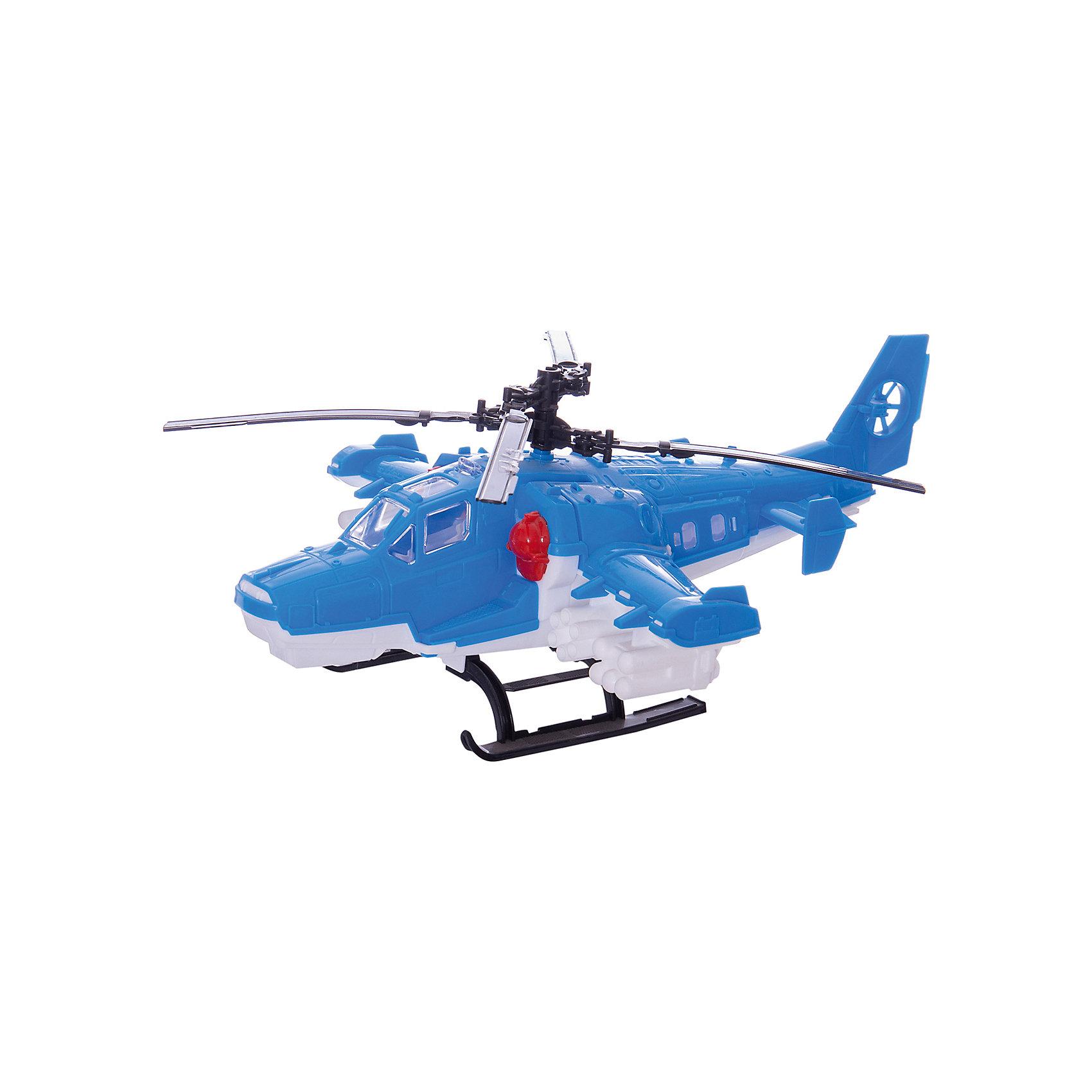 Вертолет Полиция, НордпластВертолет Полиция, Нордпласт - это яркий пластмассовый вертолет, которым интересно будет играть вашему мальчику.<br>Вертолет Полиция от компании Нордпласт обязательно понравится любому мальчику! Все элементы игрушки очень детально проработаны и максимально приближены к реальной модели вертолета. Лопасти игрушки крутятся, открывается грузовой люк, что позволяет провозить в нем мелкий груз, например игрушечных солдатиков. Игрушка изготовлена из высококачественной пищевой пластмассы, без трещин и заусениц, поэтому во время эксплуатации выдержит многие детские шалости. Она покрыта нетоксичной краской, не облупливающейся и не выгорающей на солнце. Товар соответствует требованиям стандарта для детских игрушек и имеет сертификат качества.<br><br>Дополнительная информация:<br><br>- Материал: высококачественная пластмасса<br>- Размер: 40 х 15,5 х 27 см.<br>- Вес: 290 гр.<br><br>Вертолет Полиция, Нордпласт можно купить в нашем интернет-магазине.<br><br>Ширина мм: 155<br>Глубина мм: 270<br>Высота мм: 400<br>Вес г: 290<br>Возраст от месяцев: 36<br>Возраст до месяцев: 72<br>Пол: Мужской<br>Возраст: Детский<br>SKU: 4112744