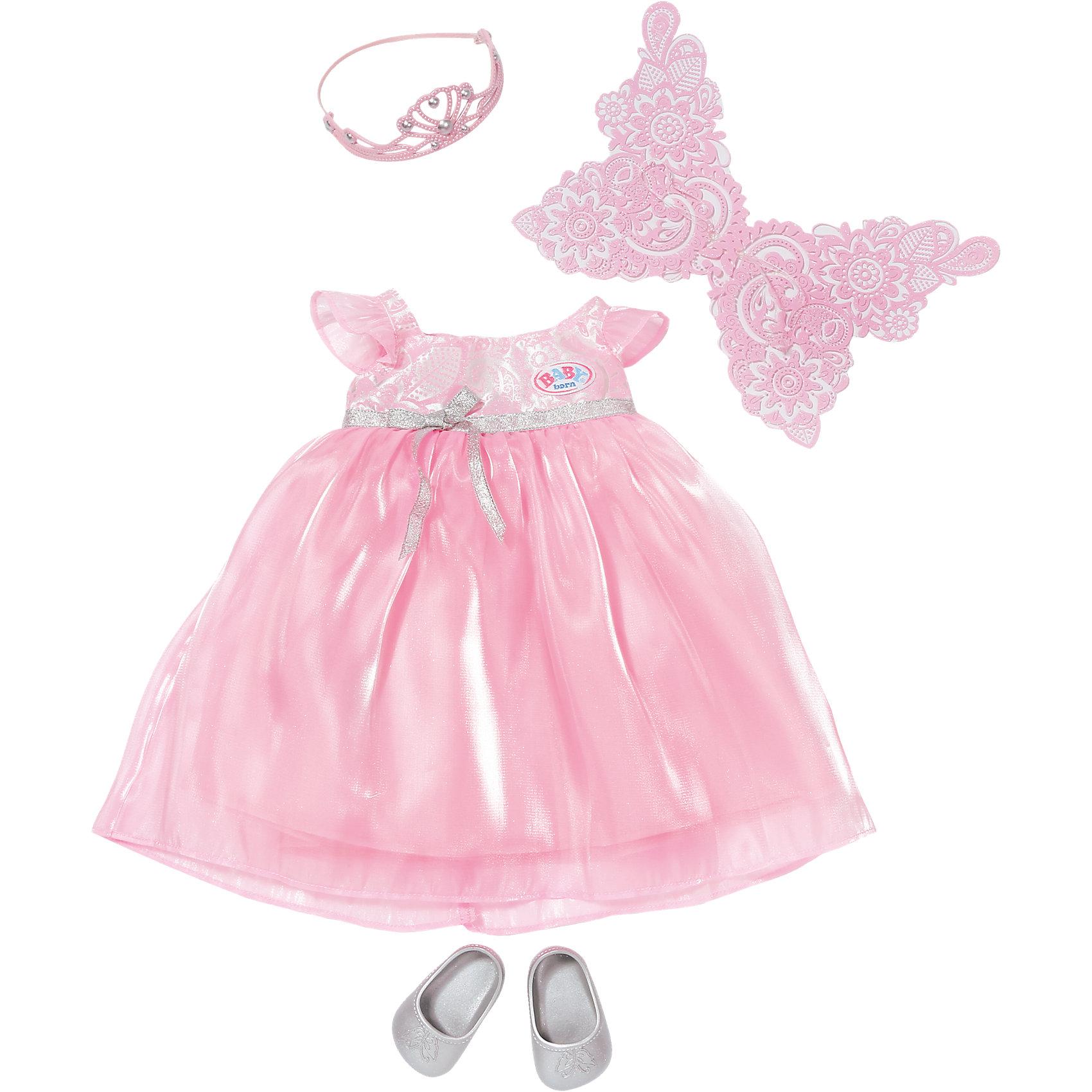 Платье феи с подсветкой, BABY born