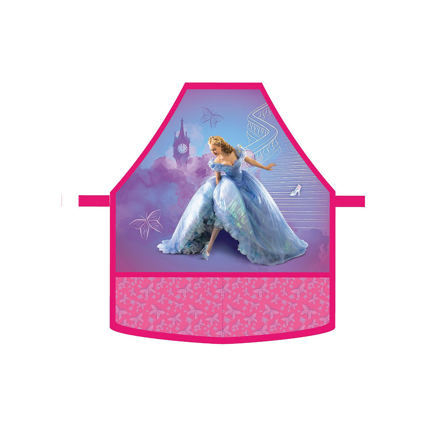 Фартук Золушка с нарукавниками, Принцессы ДиснейШкольная форма ребенка пачкается особенно быстро, если в расписании есть рисование или уроки труда! Помогите ребенку всегда быть чистым и опрятным. Купите ему замечательный фартук Золушка Принцессы Дисней (Disney Princess). Девочка обязательно захочет покрасоваться в этом замечательном фартуке и не будет забывать одеть его. Одеть его очень просто, это легко сделает любой ребенок без помощи родителей. Регулируя пряжку на шейной лямке можно регулировать размер фартука. В комплекте с фартуком есть два удобный нарукавника, которые позволят защитить манжеты и избавят Вас от многочисленных застирываний школьной формы. Особенно девочку порадуют два вместительных кармашка и изображение героини любимого мультфильма Золушка.<br><br>Дополнительная информация:<br><br>- В комплекте: фартук, 2 нарукавника;<br>- Понравится поклонникам фильма Золушка Дисней (Disney);<br>- Лямку можно регулировать с помощью пряжки;<br>- Прочная ткань;<br>- Легко одевается;<br>- Подходит на рост 110-128 см;<br>- Размер фартука: 30-34;<br>- Вес: 80 г<br><br>Фартук Золушка, с нарукавниками, Принцессы Дисней (Disney Princess) можно купить в нашем интернет-магазине.<br><br>Ширина мм: 240<br>Глубина мм: 230<br>Высота мм: 15<br>Вес г: 80<br>Возраст от месяцев: 36<br>Возраст до месяцев: 108<br>Пол: Женский<br>Возраст: Детский<br>SKU: 4121011