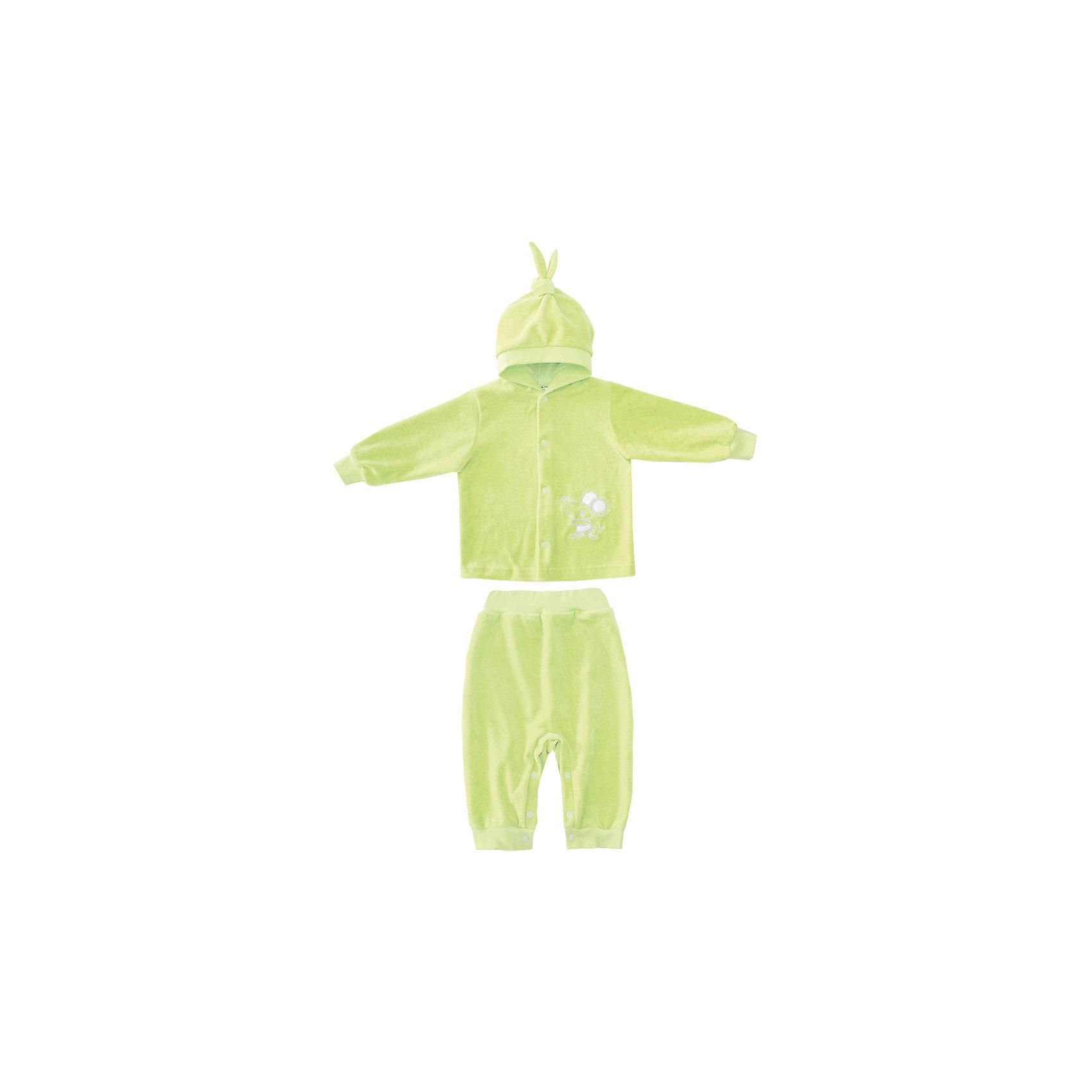 Комплект: толстовка и брюки КотМарКотКомплект: толстовка и брюки от российской марки КотМарКот.<br>Замечательный велюровый костюм, состоящий из толстовки и брюк. Толстовка с капюшоном и застежкой на кнопки. Изделие декорировано забавной аппликацией. Брюки на эластичном поясе.<br>Состав:<br>80% хлопок, 20% ПЭ<br><br>Ширина мм: 157<br>Глубина мм: 13<br>Высота мм: 119<br>Вес г: 200<br>Цвет: зеленый<br>Возраст от месяцев: 48<br>Возраст до месяцев: 48<br>Пол: Унисекс<br>Возраст: Детский<br>Размер: 104,98,74,92,86,80<br>SKU: 4121898