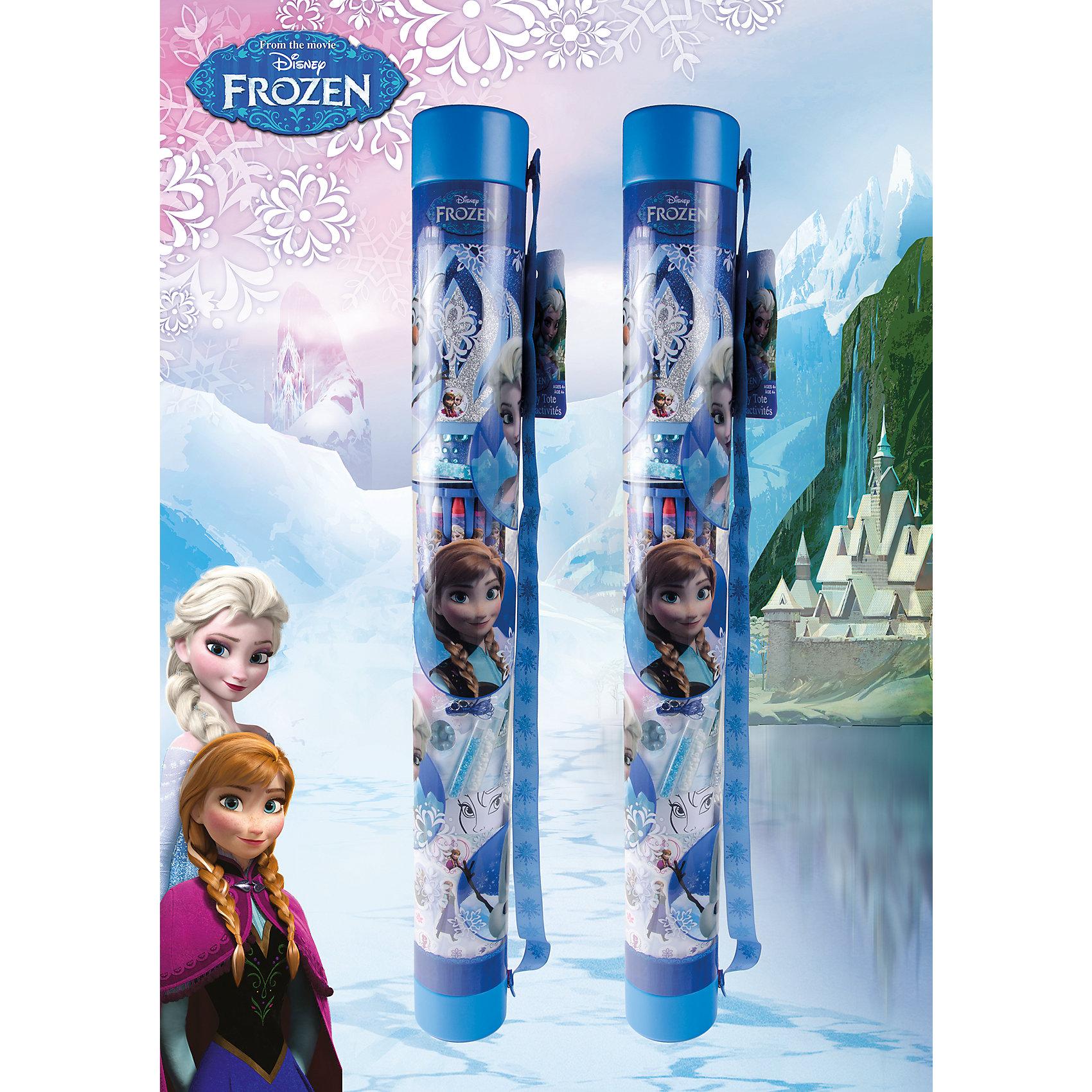 Набор для творчества 3 в 1, Холодное сердцеСтань настоящей принцессой! Создай свою корону и множество других прекрасных вещиц, а этом замечательный набор поможет тебе в этом. Набор приведет в восторг всех поклонниц мультфильма Frozen и станет прекрасным подарком на любой праздник. <br><br>Дополнительная информация:<br><br>- Материал: бумага, пластик, воск, текстиль.<br>- Комплектация: 12 восковых мелков, 2 подставки для мелков, 6 листов цветной бумаги, 2 набора наклеек, 2 блестящие формы в виде короны, 1 3D наклейка,1 сатиновая лента, 1 резинка, 1 овальный серебристый крючок, 10 маленьких серебристых бусин, 2 бусины, 4 бусины в форме сердца, 2 большие плоские бусины, 4 большие круглые бусины, 6 бусин в форме пони, 1 лента принцессы, 4 картонные вставки, инструкция, тубус для хранения. <br>- Размер упаковки: длина - 78 см, d -9 см. <br><br>Набор для творчества 3 в 1, Холодное сердце (Frozen), можно купить в нашем магазине.<br><br>Ширина мм: 775<br>Глубина мм: 88<br>Высота мм: 92<br>Вес г: 439<br>Возраст от месяцев: 60<br>Возраст до месяцев: 120<br>Пол: Женский<br>Возраст: Детский<br>SKU: 4122030