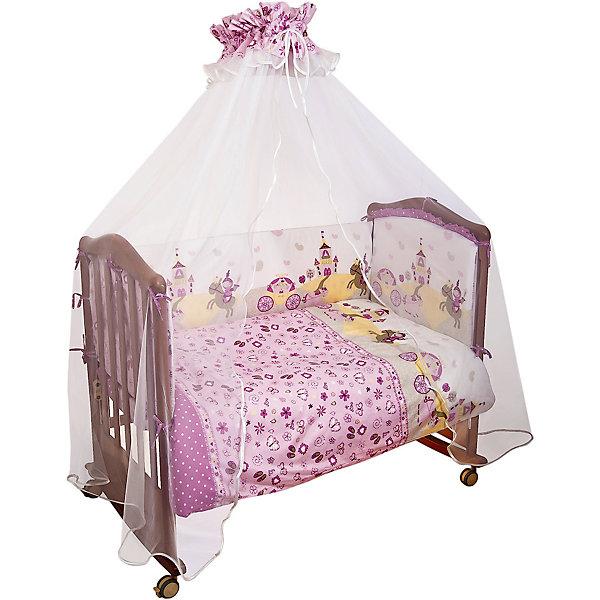 Борт Золушка Сонный гномик, розовый