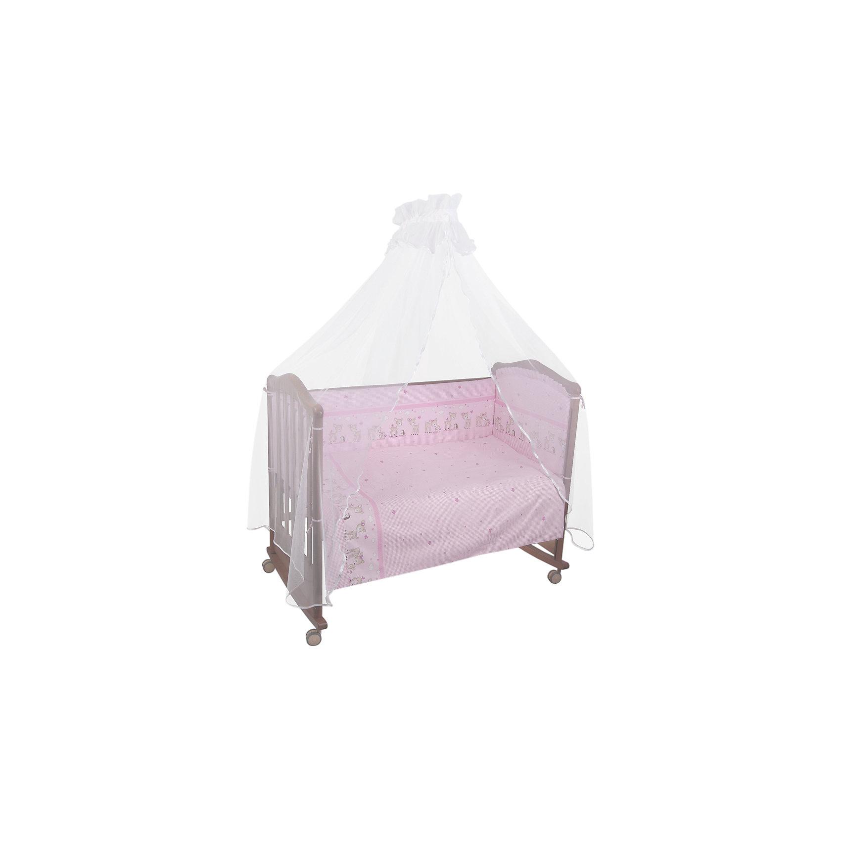 Сонный гномик Постельное белье Оленята 3 пред., Сонный гномик, розовый сонный гномик постельное белье считалочка 7 пред сонный гномик бежевый