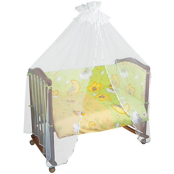 Постельное белье Сыроежкины сны 3 пред., Сонный гномик, зеленыйПостельное белье в кроватку новорождённого<br>Состав ткани: нежная бязь из самой тонкой нити. 100% хлопок безупречной выделки, ткань с авторским рисунком деликатные швы, рассчитанные на прикосновение к нежной коже ребёнка. Комплект состоит из наволочки (40х60 см), простыни (100х140 см) пододеяльника (110х140 см)<br><br>Постельное белье Сыроежкины сны 3 пред., Сонный гномик, зеленый можно купить в нашем магазине.<br><br>Ширина мм: 320<br>Глубина мм: 50<br>Высота мм: 450<br>Вес г: 900<br>Возраст от месяцев: 0<br>Возраст до месяцев: 48<br>Пол: Унисекс<br>Возраст: Детский<br>SKU: 4122115
