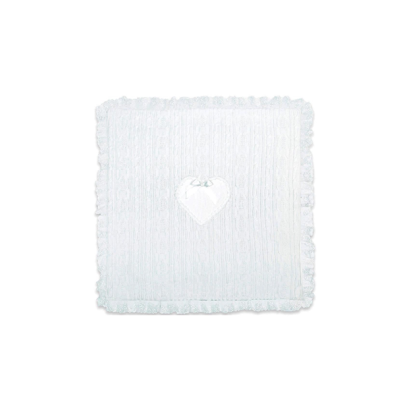 Одеяло-плед Сердечко Сонный гномикВязаный, теплый плед с помпончиками    Подкладка трикотаж 100% хлопок.<br>Утеплен синтепоном плотностью 100.<br>Украшен по краям  тесьмой и нежным сердечком. Размер 90*90<br><br><br>Одеяло-плед Сердечко Сонный гномик можно купить в нашем магазине.<br><br>Ширина мм: 410<br>Глубина мм: 70<br>Высота мм: 350<br>Вес г: 600<br>Возраст от месяцев: 0<br>Возраст до месяцев: 36<br>Пол: Женский<br>Возраст: Детский<br>SKU: 4122123