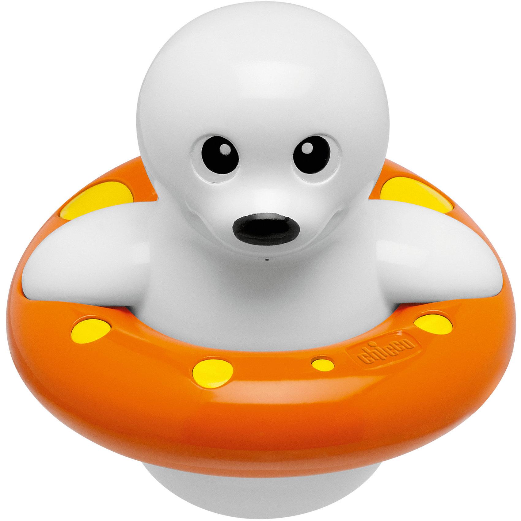 Игрушка для ванны Морской котик, ChiccoДинамические игрушки<br>Игрушка для ванны Морской котик, Chicco (Чико) понравится вашему ребенку и превратит купание в веселую игру! Игрушка представляет собой забавного морского котика, который умеет сам плавать в воде, для этого нужно повернуть хвостик «пропеллер» на несколько оборотов. Если нажать на кнопку, расположенную на голове котика, то он брызнет тонкой струйкой воды, и это, несомненно, позабавит малыша. <br><br>Дополнительная информация:<br>-Размер игрушки: 14 см<br>-Материалы: пластик<br><br>Забавная игрушка для ванной Морской котик развлечет малыша во время купания и подарит ему массу положительных эмоций, превратит купание в удовольствие! <br><br>Игрушка для ванны Морской котик, Chicco (Чико) можно купить в нашем магазине.<br><br>Ширина мм: 155<br>Глубина мм: 128<br>Высота мм: 208<br>Вес г: 334<br>Возраст от месяцев: 6<br>Возраст до месяцев: 36<br>Пол: Унисекс<br>Возраст: Детский<br>SKU: 4123469