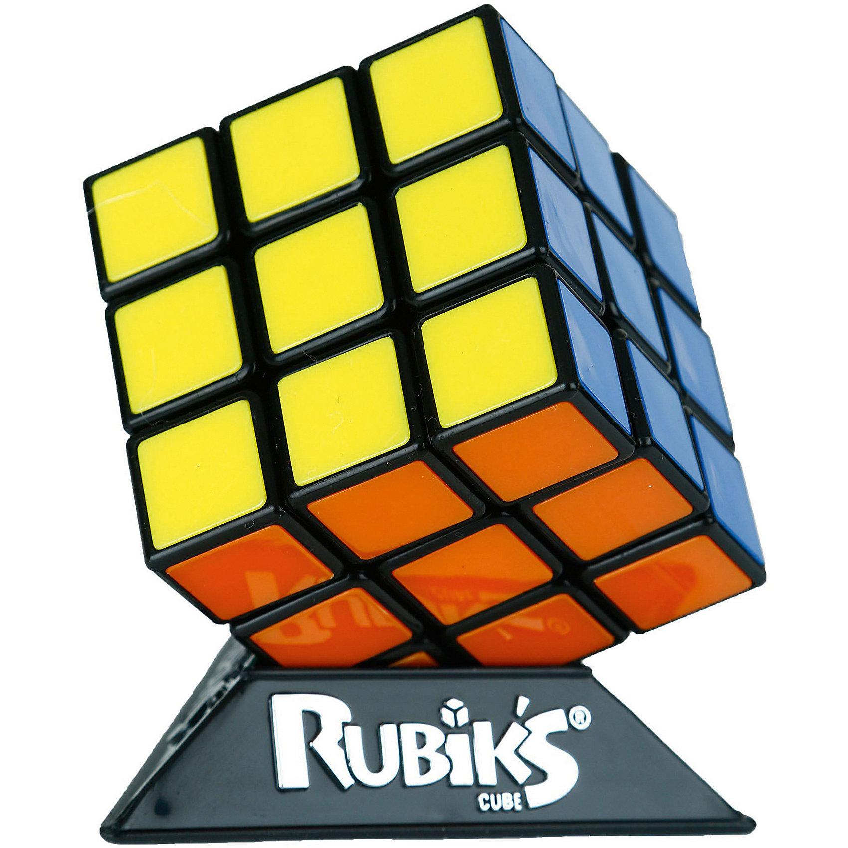 Кубик Рубика 3х3, без наклеекИгры в дорогу<br>Улучшенный механизм на базе шара, кубик крутится плавнее, мягче и при этом точнее. Благодаря новому механизму, теперь кубик Рубика режет углы. Это значит, что даже если в процессе сборки какая-то из сторон кубика оказалась не повернута до конца, то поворот другой стороны, пересекающей эту, довернет сторону. В основном, это важно при скоростной сборке, но понравится и тем кто собирает кубик Рубика не на скорость.<br>    Цветные пластиковые вставки вместо наклеек - сколько бы вы ни крутили головоломку, ваш кубик Рубика всегда в идеальном состоянии, как новый!<br>    Новая упаковка-пирамида с 3 крыльями, подчеркивающая новый характер игрушки. Упаковка допускает размещение на полке, на крючках, а так же выстраивание в столбик до 5-6шт в высоту. <br>    Единственный настоящий кубик Рубика, сделанный по венгерской лицензии Эрно Рубика<br>    Подробнее: http://playlab.ru/toys/rubiks/3x3/?sphrase_id=9166<br><br>Ширина мм: 170<br>Глубина мм: 120<br>Высота мм: 120<br>Вес г: 300<br>Возраст от месяцев: 96<br>Возраст до месяцев: 1188<br>Пол: Унисекс<br>Возраст: Детский<br>SKU: 4123666