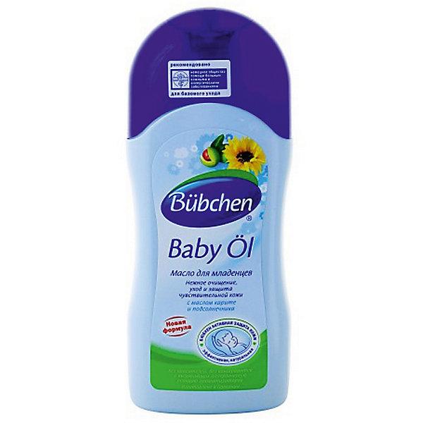 Масло для младенцев 200 мл., BubchenКосметика для малыша<br>Масло для младенцев Bubchen предназначено для мягкого очищения и ухода за кожей в области подгузника. Быстро впитывается, не оставляя жирного блеска. Снимает раздражение и покраснение, способствует регенерации кожи. Прекрасно ухаживает за кожей, питая, смягчая и увлажняя ее.<br><br>Ширина мм: 35<br>Глубина мм: 65<br>Высота мм: 165<br>Вес г: 205<br>Возраст от месяцев: 0<br>Возраст до месяцев: 36<br>Пол: Унисекс<br>Возраст: Детский<br>SKU: 4124383