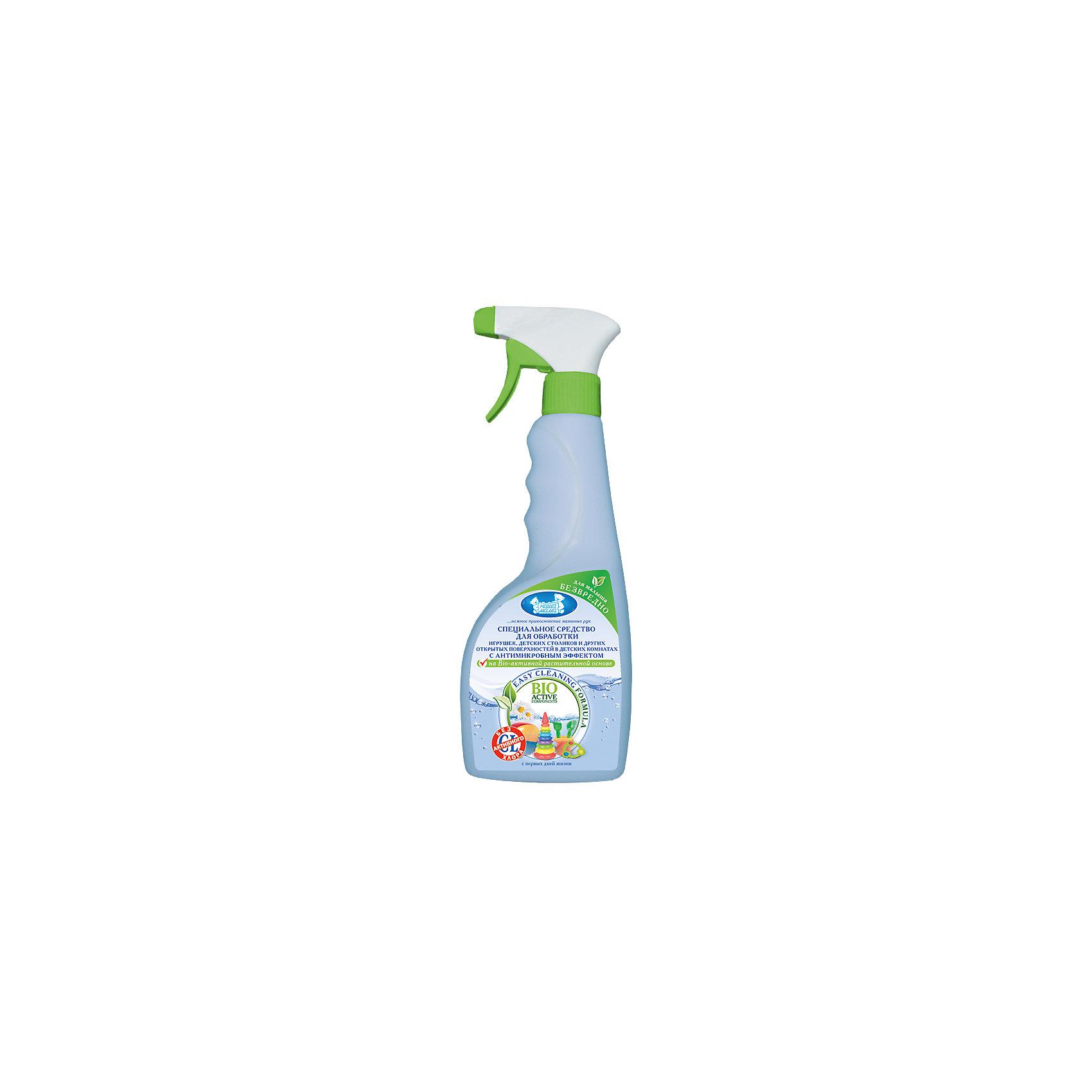 Средство для обработки с антимикробным эффектом, Наша МамаBIO- разлагаемое средство без запаха на растительной основе, очищает игрушки, десткие столики и другие предметы в комнате малыша от микробов, не оставляет на поверхности разводов. Не содержит агрессивных компоненотов и предназначено для деликатной обработке дестких игрушек, предметов гигиены и интерьера, а так же для ежедневной антимикробной уборки в детских комнатах<br><br>Ширина мм: 65<br>Глубина мм: 85<br>Высота мм: 255<br>Вес г: 600<br>Возраст от месяцев: 0<br>Возраст до месяцев: 36<br>Пол: Унисекс<br>Возраст: Детский<br>SKU: 4124428