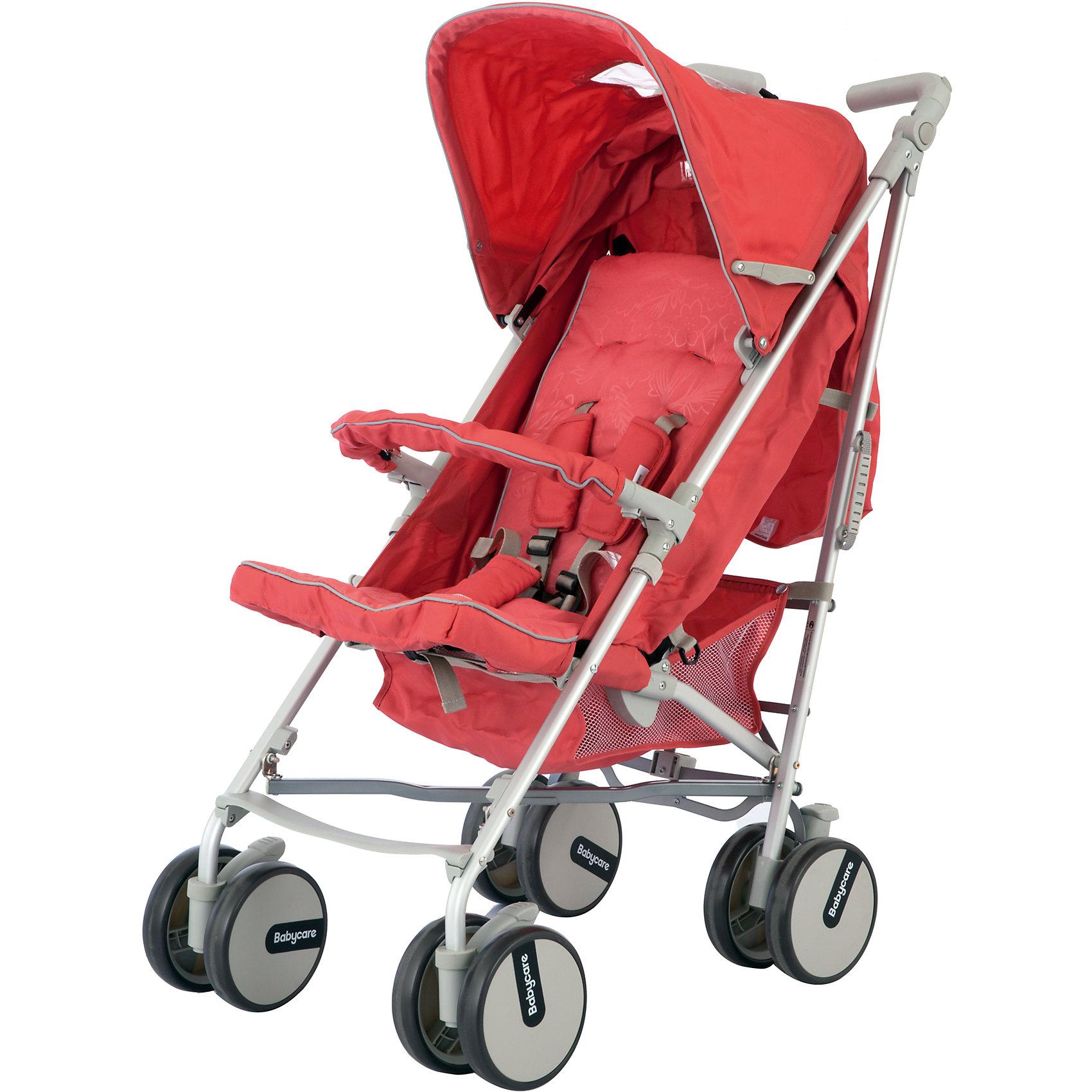 Коляска-трость Premier, Baby Care, розовыйКоляска-трость Premier (Премьер), Baby Care , розовый – это прогулочная коляска-трость с расширенным функционалом. Здесь и полностью раскладывающийся капюшон, и 3 положения наклона спинки, и регулируемая подножка и еще множество приятных мелочей, которые редко встречаются у колясок данной категории. Мягкие сдвоенные колеса не только обеспечивают супер плавный ход коляски, но еще и стильно выглядят. Две поворотные в разных плоскостях ручки, большая корзина для вещей придется по вкусу всем мамам!<br><br>Характеристики:<br>-Тип: прогулочная<br>-Цвет: розовый<br>-Механизм складывания: трость<br>-Регулировка спинки в 3 положениях <br>-Легкая алюминиевая рама <br>-5-точечные ремни безопасности <br>-Большой складной капюшон с 2-мя окошками<br>-Мягкие сдвоенные колеса из искусственной вспененной резины (пеноплена) <br>-Передние поворотные колеса с фиксатором<br>-Регулируемые в разных плоскостях ручки <br>-Стояночные тормоза на задних колесах <br>-Регулировка высоты ручки: есть<br><br>Комплектация: чехол на ноги, сетка для продуктов<br><br>Дополнительная информация:<br>-Вес коляски: 7 кг<br>-Габариты: 65х32х21 см<br>-Диаметр колёс: 15 см<br>-Ширина колёсной базы: 46 см<br>-Габариты в сложенном виде: 72x46 см<br>-Материалы: пеноплен, пластик, алюминий, текстиль<br><br>Компактная Коляска-трость Premier (Премьер), Baby Care , розовый идеально подходит для приятных путешествий, ведь она очень компактна легко и быстро складывается одной рукой!<br><br>Коляска-трость Premier (Премьер), Baby Care , розовый можно купить в нашем магазине.<br><br>Ширина мм: 720<br>Глубина мм: 460<br>Высота мм: 210<br>Вес г: 7500<br>Возраст от месяцев: 6<br>Возраст до месяцев: 36<br>Пол: Унисекс<br>Возраст: Детский<br>SKU: 4125331