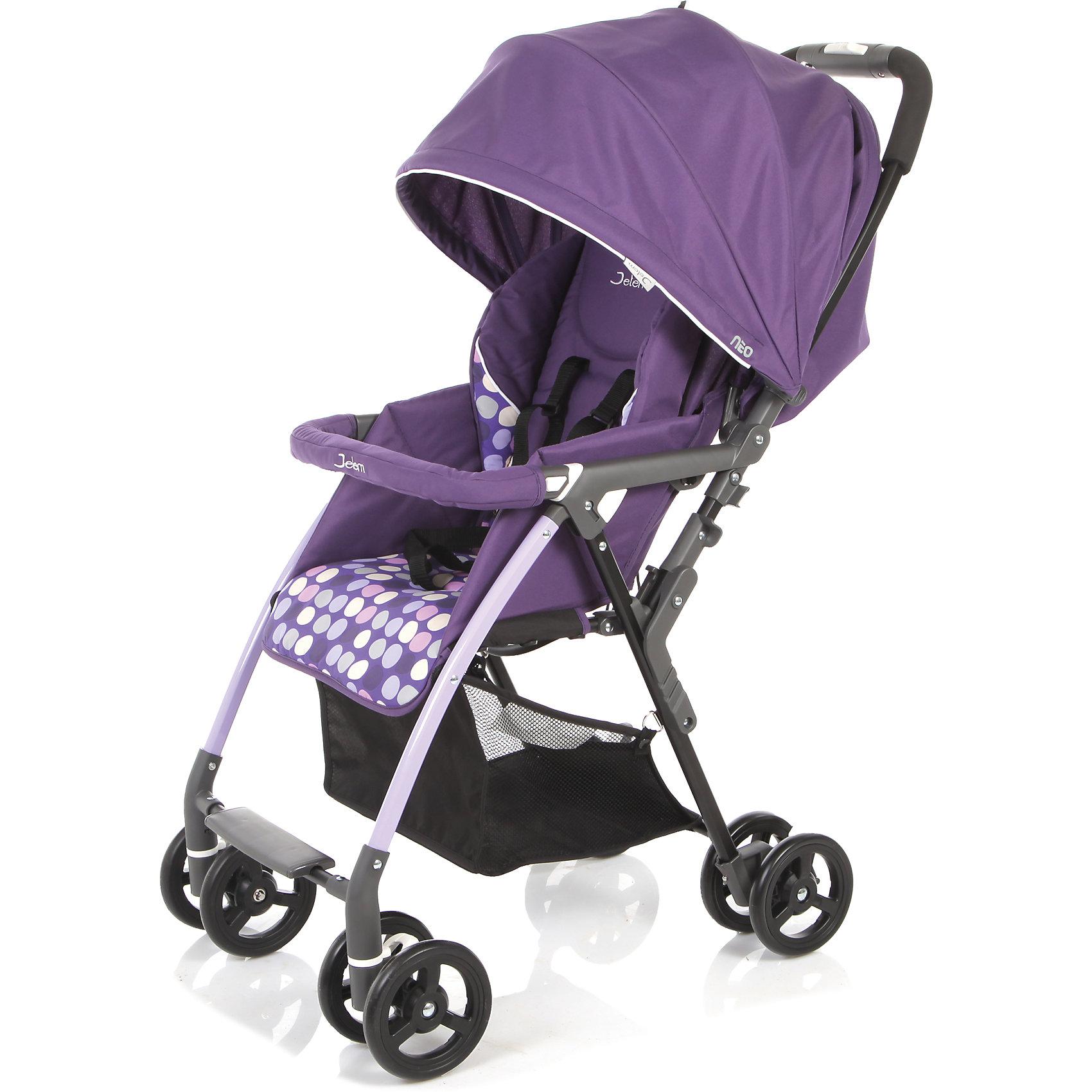 Прогулочная коляска Neo, Jetem, фиолетовый