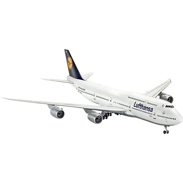 """Самолет Пассажирский Боинг 747-8Самолеты и вертолеты<br>Характеристики товара:<br><br>• возраст: от 10 лет;<br>• цвет: белый;<br>• масштаб: 1:144;<br>• количество деталей: 172 шт;<br>• материал: пластик; <br>• клей и краски в комплект не входят;<br>• длина модели: 52,5 см;<br>• размах крыльев: 47,6 см;<br>• бренд, страна бренда: Revell (Ревел), Германия;<br>• страна-изготовитель: Польша.<br><br>Сборная модель для склеивания «Самолет Пассажирский Боинг 747-8» поможет вам и вашему ребенку придумать увлекательное занятие на долгое время. <br><br>Эта модель Боинга была создана в 1969 году и на тот момент представляла собой самый вместительный авиалайнер в мире. Прозванный """"Джамбо Джет"""" лайнер стал первым двухпалубным широкофюзеляжным самолетом.  Сейчас это самый распространенный в мире самолет своего класса.<br><br>Набор включает в себя 172 пластиковых элемента, из которых можно собрать достоверную уменьшенную копию одноименного самолета. Также в наборе схематичная инструкция по сборке. <br> <br>Процесс сборки развивает интеллектуальные и инструментальные способности, воображение и конструктивное мышление, а также прививает практические навыки работы со схемами и чертежами. <br><br>Обращаем ваше внимание на тот факт, что для сборки этой модели клей и краски в комплект не входят. <br><br>Сборную модель для склеивания «Самолет Пассажирский Боинг 747-8», 172  дет., Revell (Ревел) можно купить в нашем интернет-магазине.<br><br>Ширина мм: 541<br>Глубина мм: 235<br>Высота мм: 100<br>Вес г: 791<br>Возраст от месяцев: 156<br>Возраст до месяцев: 216<br>Пол: Мужской<br>Возраст: Детский<br>SKU: 4125564"""