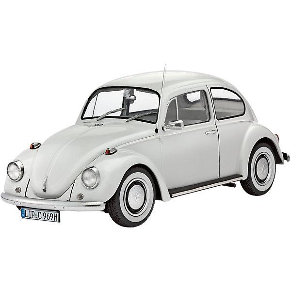Автомобиль Фольксваген Жук 1500 (Лимузин)Модели для склеивания<br>Характеристики товара:<br><br>• возраст: от 10 лет;<br>• цвет: белый;<br>• масштаб: 1:24<br>• количество деталей: 100 шт;<br>• материал: пластик; <br>• клей и краски в комплект не входят;<br>• длина модели: 17 см;<br>• бренд, страна бренда: Revell (Ревел),Германия;<br>• страна-изготовитель: Германия.<br><br>Сборная модель для склеивания «Автомобиль Фольксваген Жук 1500 (Лимузин)» поможет вам и вашему ребенку придумать увлекательное занятие на долгое время. <br><br>Набор включает в себя 100 пластиковых элементов, из которых можно собрать достоверную уменьшенную копию одноименного автомобиля. В комплект также входит схематичная инструкция.<br><br>Сборная модель автомобиля Volkswagen Beetle Limousine еще называют Жук. Volkswagen Жук в различных модификациях выпускался с 1938 по 2003 годы. За это время было выпущено около 21,5 миллиона жуков. <br> <br>Процесс сборки развивает интеллектуальные и инструментальные способности, воображение и конструктивное мышление, а также прививает практические навыки работы со схемами и чертежами. <br><br>Обращаем ваше внимание на тот факт, что для сборки этой модели клей и краски в комплект не входят. <br><br>Сборную модель для склеивания «Автомобиль Фольксваген Жук 1500 (Лимузин)», 100 дет., Revell (Ревел) можно купить в нашем интернет-магазине.<br><br>Ширина мм: 359<br>Глубина мм: 215<br>Высота мм: 71<br>Вес г: 336<br>Возраст от месяцев: 120<br>Возраст до месяцев: 180<br>Пол: Мужской<br>Возраст: Детский<br>SKU: 4125591