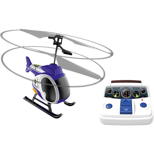 Моя первая вертолетная станция, SilverlitРадиоуправляемые вертолёты<br>Моя первая вертолетная станция, Silverlit.<br><br>Характеристики:<br><br>- Комплектация: вертолёт, пульт д/у, вертолетная площадка<br>- Материал: пластик, металл<br>- Батарейки: 6 х АА / LR6 1.5V (не входят в комплект)<br>- Время игры: 5 мин.<br>- Время зарядки: 30 мин.<br>- Длина вертолета: 11 см.<br>- Диаметр винтов: 19 см.<br><br>Моя первая вертолетная станция от Silverlit (Сильверлит) – это лучший подарок для ребенка, который ни разу не играл с радиоуправляемыми вертолетами. Управление максимально упрощено. Ребенку не надо держать кнопки, достаточно нажать один раз и отпустить. Вертолет снабжен функцией автоматического взлета и посадки. После нажатия кнопки вниз вертолет аккуратно приземлится на землю сам. Соосная схема винтов, когда два винта находятся друг над другом, стабилизирует положение игрушки в воздухе и делает ее более легкой в управлении. Дополнительные пластиковые оси вокруг винтов защитят их от ударов о стены. Вертолет издает реалистичные звуки работающих лопастей. В набор входит вертолетная площадка для взлета и посадки. Заряжается вертолет от пульта управления при помощи кабеля. Продукция сертифицирована, экологически безопасна для ребенка, использованные красители не токсичны и гипоаллергенны.<br><br>Набор Моя первая вертолетная станция, Silverlit можно купить в нашем интернет-магазине.<br>Ширина мм: 337; Глубина мм: 236; Высота мм: 124; Вес г: 507; Возраст от месяцев: 60; Возраст до месяцев: 108; Пол: Унисекс; Возраст: Детский; SKU: 4125617;
