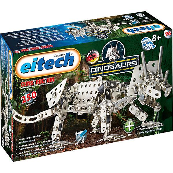 Купить Металлический конструктор Eitech Динозавр-Трицератопс , 250 деталей, Германия, Мужской