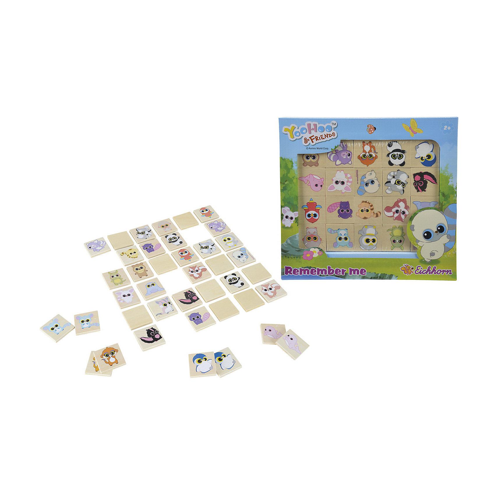 Мемори, Юху и его друзья, EichhornМемори, Юху и его друзья, Eichhorn (Айхгорн) – это увлекательная игра для поклонников мультсериала про приключения Юху и его компании.<br>Игра «Мемори» - это игра на запоминание. Игроку необходимо найти среди разложенных карточек парные изображения, которые изъять из игрового поля. Для ознакомления ребенка с игрой можно использовать 4 карточки, для начального уровня - 6 карточек и далее по возрастанию. Все карточки перемешиваются и кладутся картинками вниз. Ребенок открывает по одной картинке следующим образом: открыли картинку, затем следующую - если они не одинаковые, обе закрываем. В процессе игры ребенок запоминает, где какая картинка лежит. Игра поможет развить у Вашего малыша мелкую моторику, абстрактное и образное мышление, логику, память. Все карточки с изображением Юху и его друзей изготовлены из высококачественной древесины и обладают сглаженными углами, что обеспечит дополнительную безопасность вашего малыша.<br><br>Дополнительная информация:<br><br>- В наборе: 40 карточек<br>- Количество игроков: от 2 и более<br>- Материал: древесина<br>- Размер карточки: 4х4 см.<br>- Размер упаковки: 29х3х29 см.<br>- Вес: 410 г.<br><br>Мемори, Юху и его друзья, Eichhorn (Айхгорн) можно купить в нашем интернет-магазине.<br><br>Ширина мм: 290<br>Глубина мм: 30<br>Высота мм: 290<br>Вес г: 410<br>Возраст от месяцев: 24<br>Возраст до месяцев: 72<br>Пол: Унисекс<br>Возраст: Детский<br>SKU: 4128901