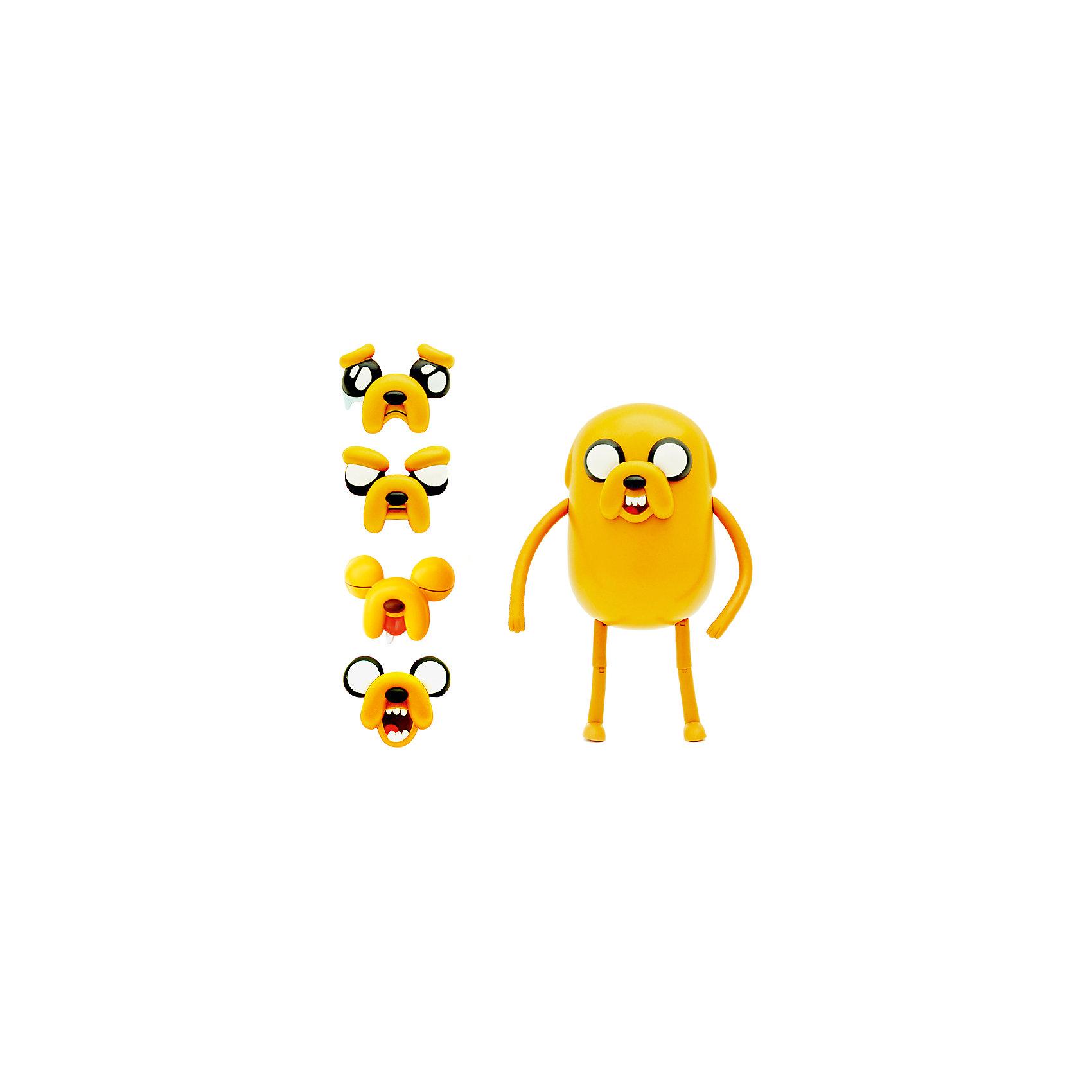 Фигурка Джейк, 25 см, Время приключенийЗабавная фигурка Джейка непременно понравится всем любителям мультсериала Время приключений (Adventure Time). Джейк - волшебный пёс, лучший друг Финна и его сводный брат. Он выглядит как жёлтый бульдог с большими глазами. Джейк умеет растягиваться и управлять своим телом, заставляя его принимать любую форму. Большая фигурка  имеет несколько точек артикуляции, двигаются и сгибаются  руки и ноги, а так же можно  изменить выражения лица.<br><br>Дополнительная информация:<br><br>- Материал: пластик.<br>- Высота фигурки: 25 см. <br>- Подвижные руки и ноги.<br>- Можно изменять выражение лица.<br><br>Фигурку Джейка, 25 см, Время приключений, можно купить в нашем магазине.<br><br>Ширина мм: 150<br>Глубина мм: 400<br>Высота мм: 400<br>Вес г: 500<br>Возраст от месяцев: 72<br>Возраст до месяцев: 144<br>Пол: Унисекс<br>Возраст: Детский<br>SKU: 4130188