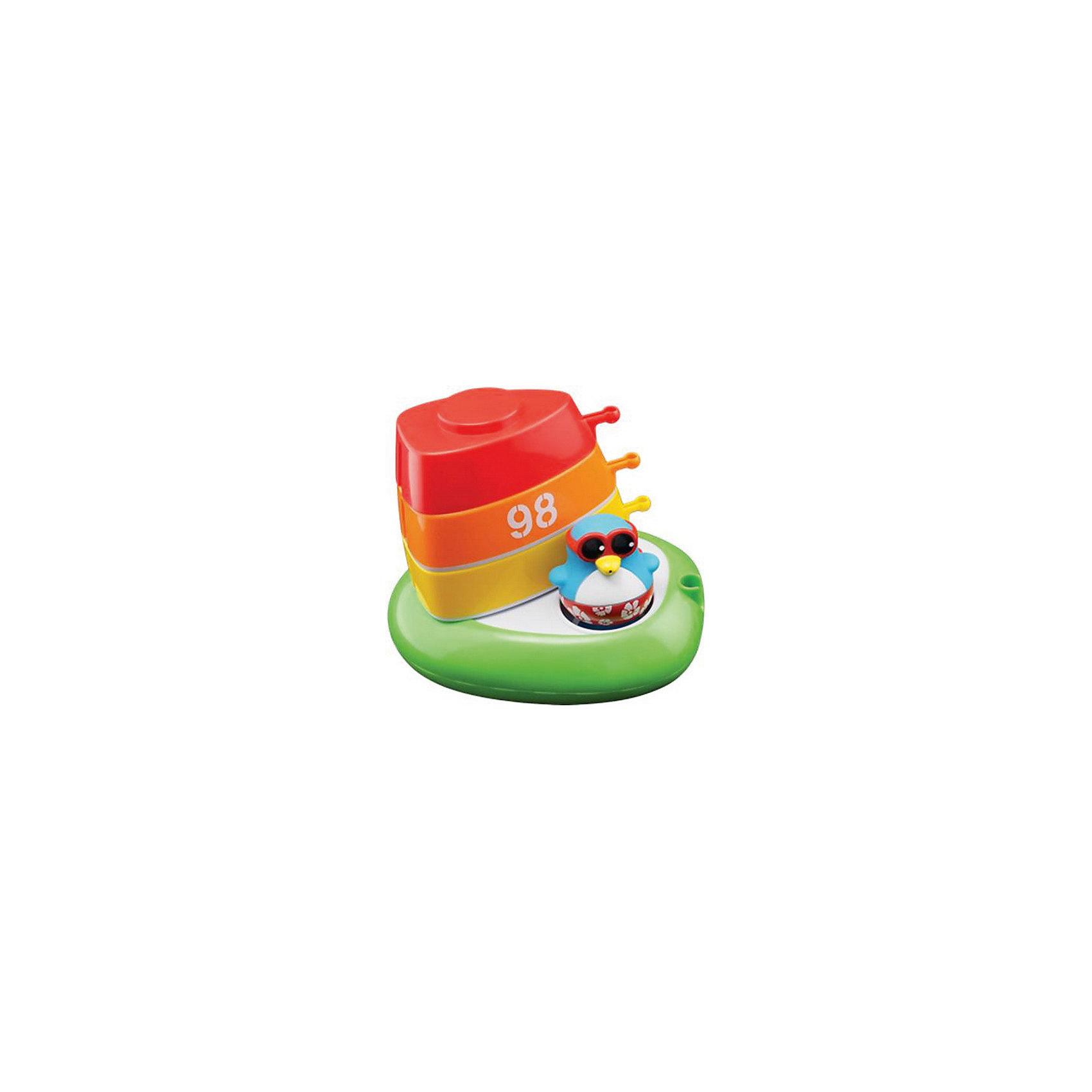 Набор для ванны Лодка с шлюпками, Water FunИгровые наборы<br>Набор для ванны Лодка с шлюпками – это игрушка от компании Toy Target линии Water Fun, которая сделает купание незабываемым и позитивным! Традиционные уточки уступили свои лавры забавным пингвинам в ярких плавках!<br>Шлюпки можно соединить между собой, или компактно составить на лодке. Пингвин в этом наборе невероятно привлекателен – цветочные плавки очень гармонично смотрятся с солнечными очками. Шлюпки можно использовать для того, чтобы рассадить в каждую других пингвинов и провести для них водную экскурсию по Вашей ванной.<br><br>Дополнительная информация:<br><br>В комплект входят лодка, три шлюпки и фигурка пингвина.<br>Размеры упаковки: 38 х 32 х 24 см<br><br>Набор для ванны Лодка с шлюпками, Water Fun можно купить в нашем магазине.<br><br>Ширина мм: 386<br>Глубина мм: 320<br>Высота мм: 245<br>Вес г: 458<br>Возраст от месяцев: 0<br>Возраст до месяцев: 36<br>Пол: Унисекс<br>Возраст: Детский<br>SKU: 4133148