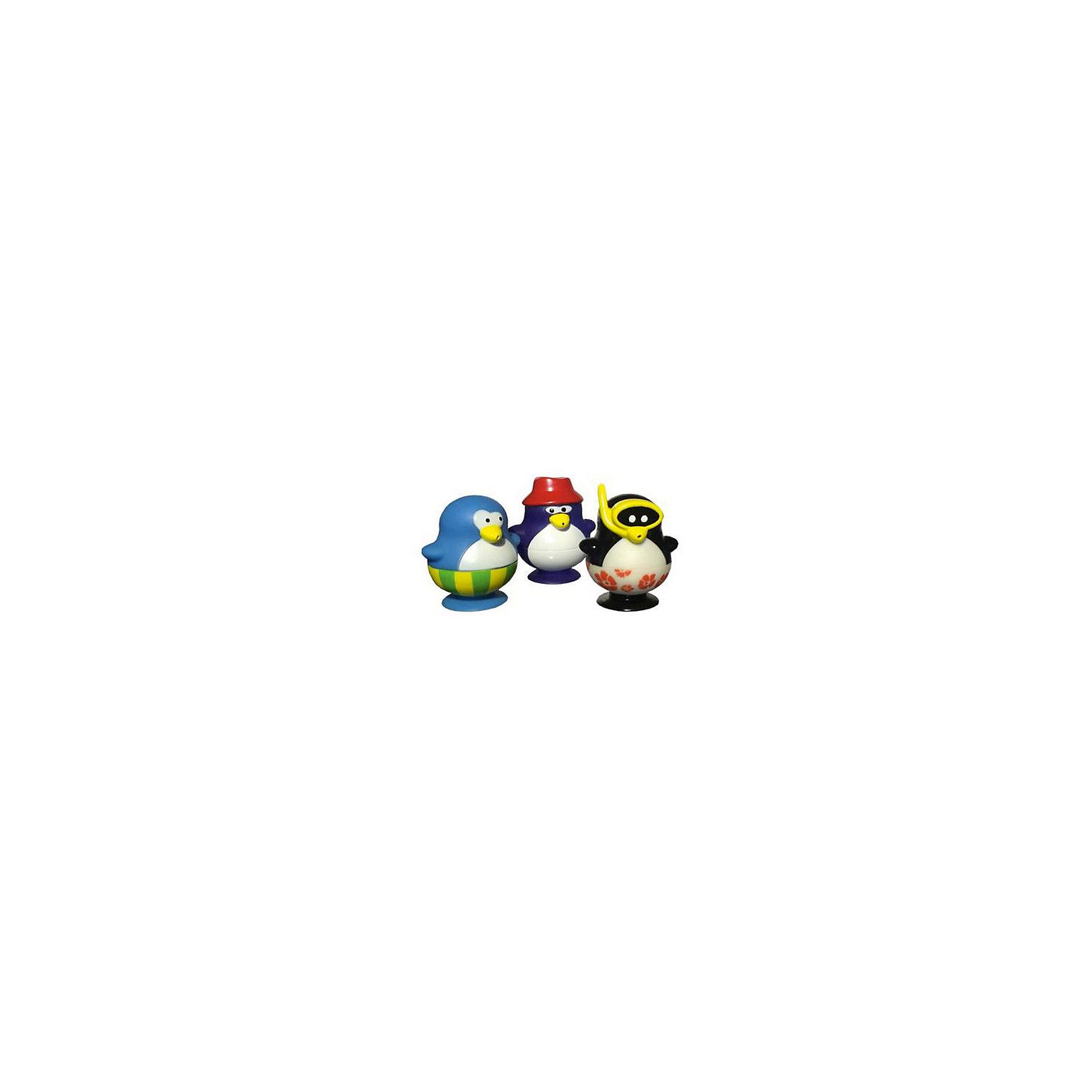 Пингвины, 3 шт., Water FunWater Fun – линия игрушек для ванной от компании Toy Target. Основные персонажи линии – пингвины в разных ярких плавках и купальных костюмах. Они могут просто составить компанию Вам во время купания, или развлечь Вас играми с наборами от Water Fun. <br><br>Дополнительная информация:<br><br>Набор  включает в себя 3 пингвинов. В них можно набирать воду, и они выплюнут её через клюв при нажатии.<br><br>Набор Пингвины, 3 шт., Water Fun можно купить в нашем магазине.<br><br>Ширина мм: 180<br>Глубина мм: 50<br>Высота мм: 220<br>Вес г: 250<br>Возраст от месяцев: 0<br>Возраст до месяцев: 36<br>Пол: Унисекс<br>Возраст: Детский<br>SKU: 4133151