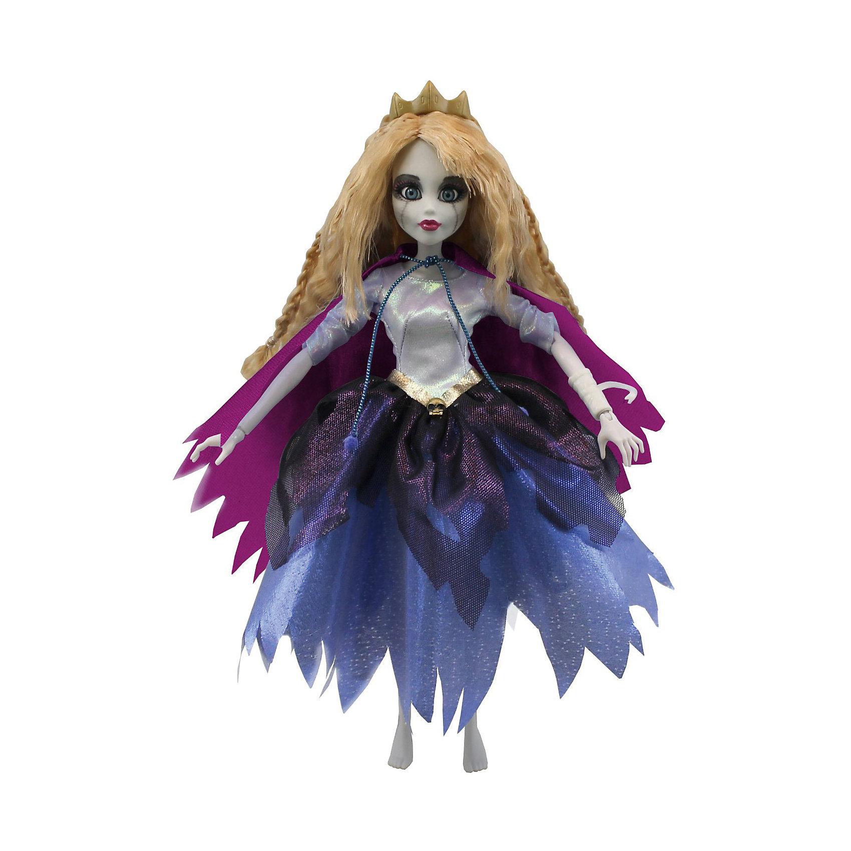 Кукла Зомби: Спящая красавица, WowWeeКукла «Спящая красавица» от WowWee - это сказочный персонаж , превращенный в загадочную и холодную принцессу-зомби. Несмотря на превращение, принцесса не утратила своей красоты, даже наоборот, приобрела определенный потусторонний шарм и очарование. Длинные белокурые волосы куклы очень приятны наощупь, из них получится много оригинальных причесок. Спящая красавица одета в невероятное платье с серебряным лифом и пышной темно-синей юбкой. На плечах у нее - фиолетовый плащ. Голову куклы венчает золотая диадема. Собери всю коллекцию принцесс-зомби и устрой незабываемый бал!<br><br>Дополнительная информация:<br><br>- Материал: пластик, текстиль.<br>- Высота куклы: 28 см.<br>- Комплектация: кукла, расческа, подставка.<br>- Руки, ноги, голова куклы подвижные.<br><br>Куклу Зомби: Спящую красавицу, WowWee, можно купить в нашем магазине.<br><br>Ширина мм: 150<br>Глубина мм: 70<br>Высота мм: 350<br>Вес г: 150<br>Возраст от месяцев: 72<br>Возраст до месяцев: 168<br>Пол: Женский<br>Возраст: Детский<br>SKU: 4134074