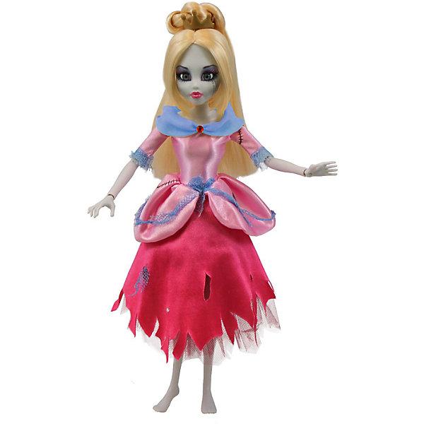 Кукла Зомби: Золушка, WowWeeКуклы<br>Кукла Зомби: Золушка от WowWee - это сказочный персонаж , превращенный в загадочную и холодную принцессу-зомби. Несмотря на превращение, принцесса не утратила своей красоты, даже наоборот, приобрела определенный потусторонний шарм и очарование. Длинные белокурые волосы куклы очень мягкие и послушные. Золушка одета в прекрасное  розово- голубое платье с приталенным лифом, пышной юбкой и подъюбником из сетки. Собери всю коллекцию принцесс-зомби и устрой незабываемый бал!<br><br>Дополнительная информация:<br><br>- Материал: пластик, текстиль.<br>- Высота куклы: 28 см.<br>- Комплектация: кукла, расческа, подставка.<br>- Руки, ноги, голова куклы подвижные.<br><br>Куклу Зомби: Золушку, WowWee, можно купить в нашем магазине.<br><br>Ширина мм: 150<br>Глубина мм: 70<br>Высота мм: 350<br>Вес г: 150<br>Возраст от месяцев: 72<br>Возраст до месяцев: 168<br>Пол: Женский<br>Возраст: Детский<br>SKU: 4134078