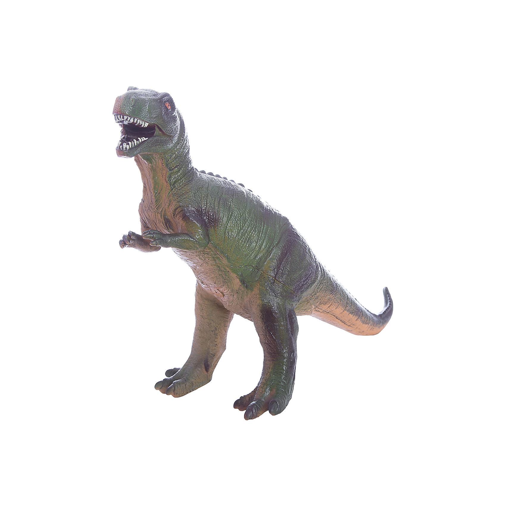 Фигурка динозавра Мегалозавр, HGLДраконы и динозавры<br>Детей всех возрастов привлекают фильмы и рассказы о доисторических временах и чудесных динозаврах, населявших Землю до возникновения человека. Подстегните фантазию юного любителя древностей - подарите ему динозавра из серии игрушек HGL. Специалисты компании создавали игрушки максимально похожими на своих прародителей, поэтому динозавры HGL такие интересные. Мегалозавр - фигурка огромного доисторического ящера. Он достигал в длину 9 метров, обладал огромной челюстью и по мнению ученых, питался другими динозаврами. Мегалозавр был очень быстрым, благодаря тому, что легко передвигался на задних мощных лапах. Он был одним из самых опасных хищников, населявших Землю более 170 миллионов лет тому назад. Ни одна история об эре динозавров невозможна без этого свирепого хищника. Ребенок будет в восторге от такого замечательного подарка. Массивный динозавр сделан из мягкого ПВХ безопасного для ребенка. Внушительные размеры и отличная детализация Мегалозавра помогут ребенку окунуться в далекий и такой манящий доисторический мир, полный приключений.<br><br>Дополнительная информация:<br><br>- Внешний вид фигурки основан на реальных данных палеонтологов;<br>- Материал: ПВХ;<br>- Размер фигурки: 40 см;<br>- Размер упаковки: 35 х 29 х 17 см;<br>- Вес: 750 г<br><br>Фигурку динозавра Мегалозавр, HGL можно купить в нашем интернет-магазине.<br><br>Ширина мм: 350<br>Глубина мм: 290<br>Высота мм: 170<br>Вес г: 750<br>Возраст от месяцев: 36<br>Возраст до месяцев: 192<br>Пол: Унисекс<br>Возраст: Детский<br>SKU: 4135940