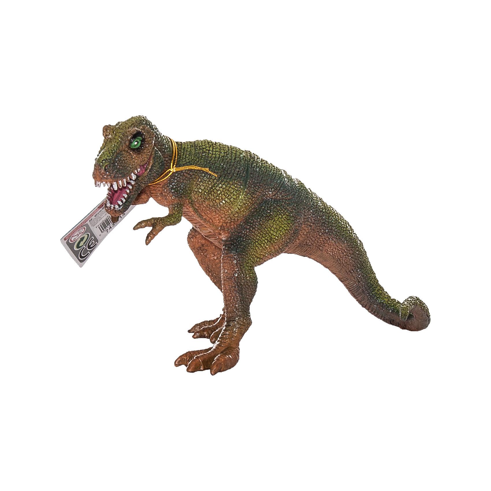 """Фигурка динозавра """"тираннозавр""""  с двигающейся пастью, hgl, в ассортименте"""