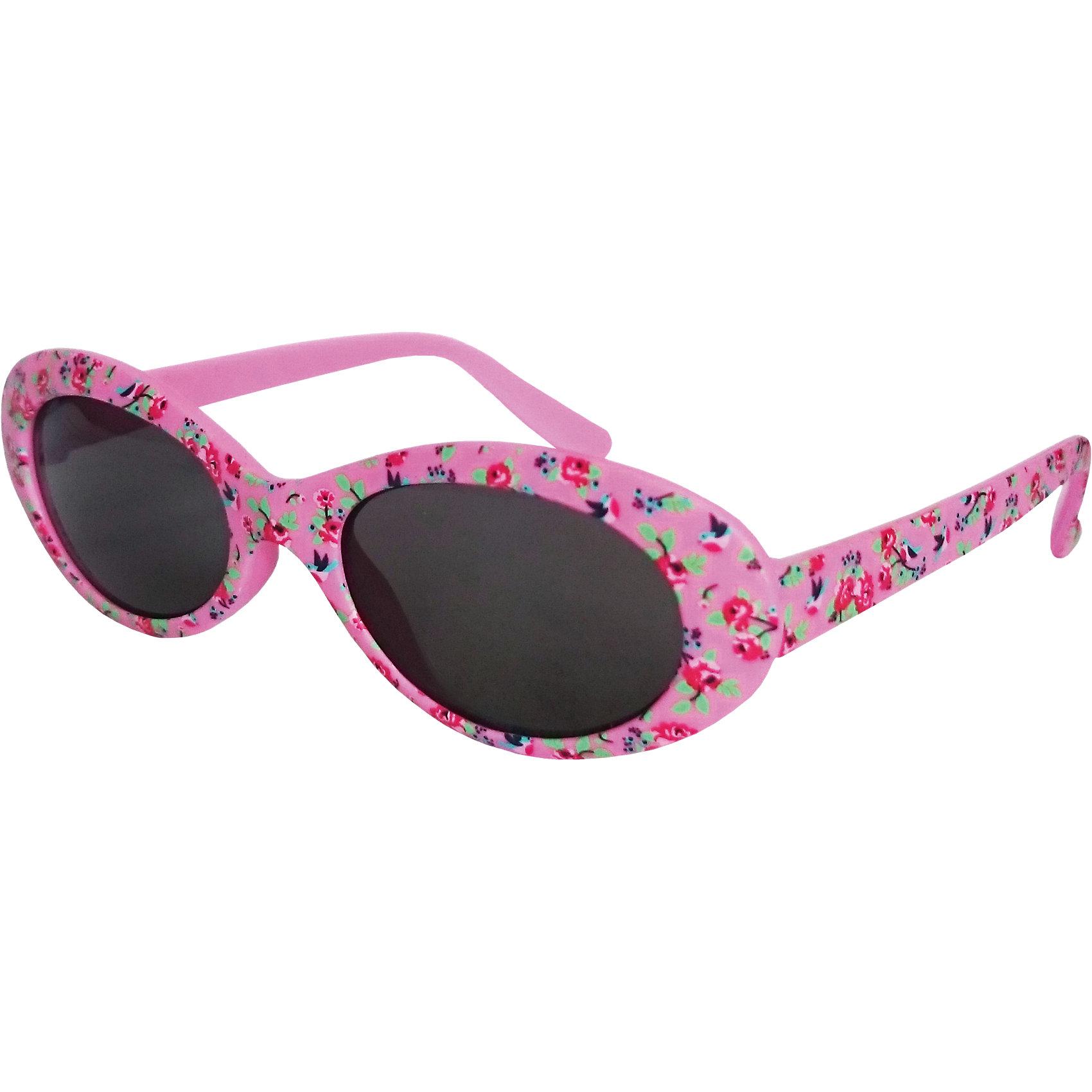 Солнечные очки CARAMELLAРозовые солнцезащитные очки «Caramella» с красными розами – это ультрамодный и полезный аксессуар для маленькой модницы. Их пластиковые линзы надежно защищают глаза от коварных ультрафиолетовых лучей, особенно опасных для детских нежных хрусталиков. Удобные дужки комфортно прилегают к голове и почти не ощущаются. Аксессуар изготовлен из пластика и предназначен для детей от 3 до 10 лет. Товар произведен в Тайване. Имеется сертификат качества и протокол испытания линз.<br><br>Ширина мм: 170<br>Глубина мм: 157<br>Высота мм: 67<br>Вес г: 117<br>Возраст от месяцев: 36<br>Возраст до месяцев: 2147483647<br>Пол: Женский<br>Возраст: Детский<br>SKU: 4136826
