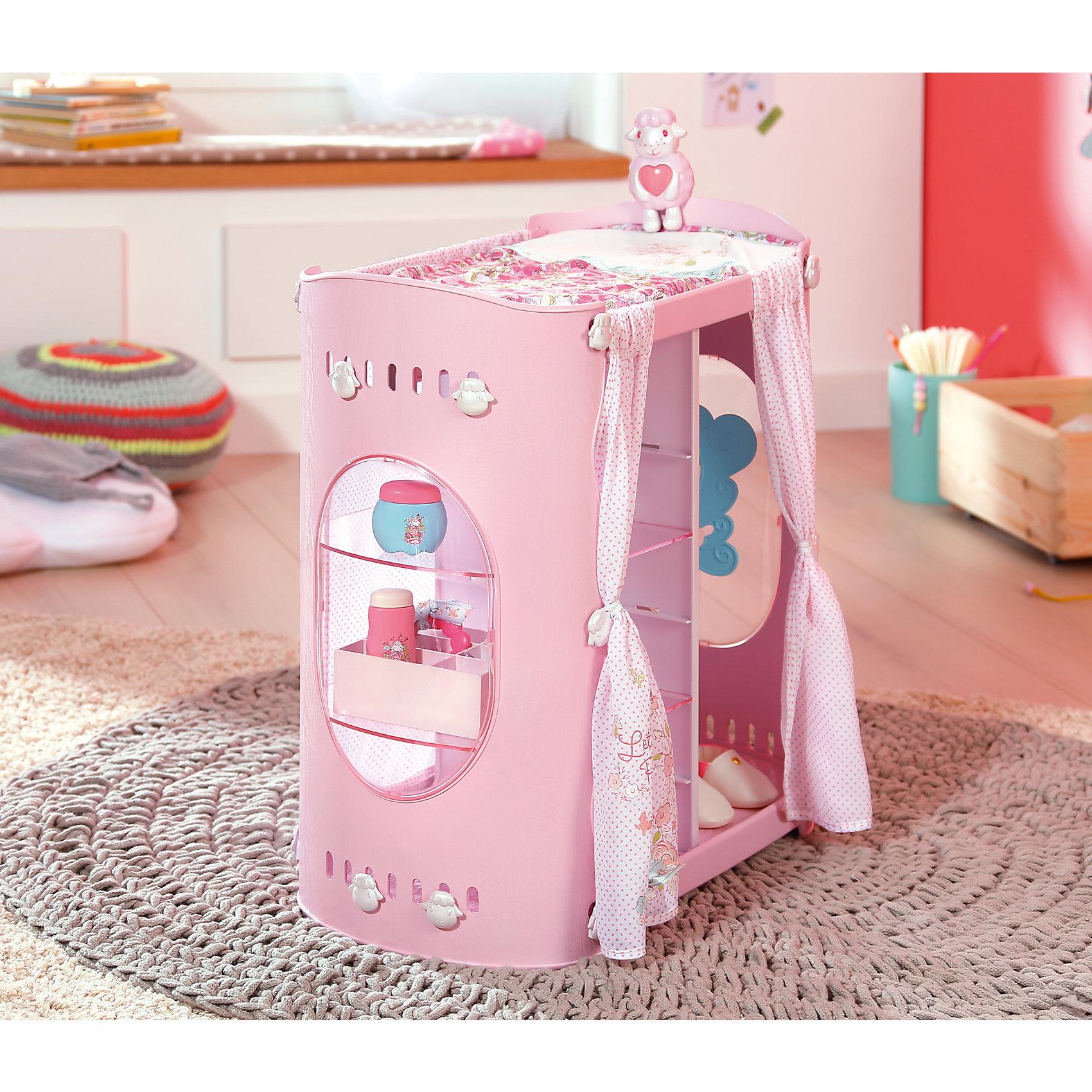 """Мебель для куклы Zapf Creation """"Baby Annabell"""" Гардероб с пеленальным столом от myToys"""
