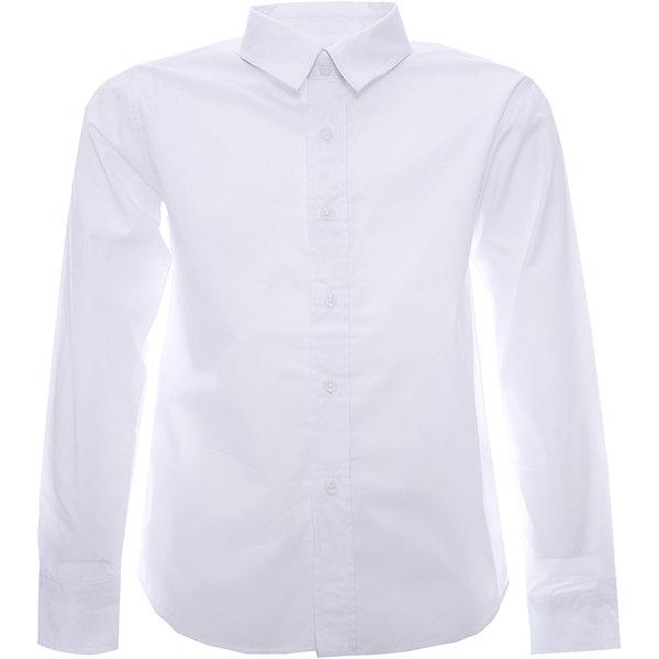 Рубашка для мальчика ScoolБлузки и рубашки<br>Рубашка для мальчика от известной марки Scool.<br>* стильная сорочка с длинным рукавом<br>* отложной воротник классической формы<br>* застежка - пуговицы<br>* манжеты на одной пуговице<br>Состав:<br>60% хлопок, 40% полиэстер<br>Ширина мм: 174; Глубина мм: 10; Высота мм: 169; Вес г: 157; Цвет: белый; Возраст от месяцев: 132; Возраст до месяцев: 144; Пол: Мужской; Возраст: Детский; Размер: 152,134,128,140,158,164,146; SKU: 4140533;