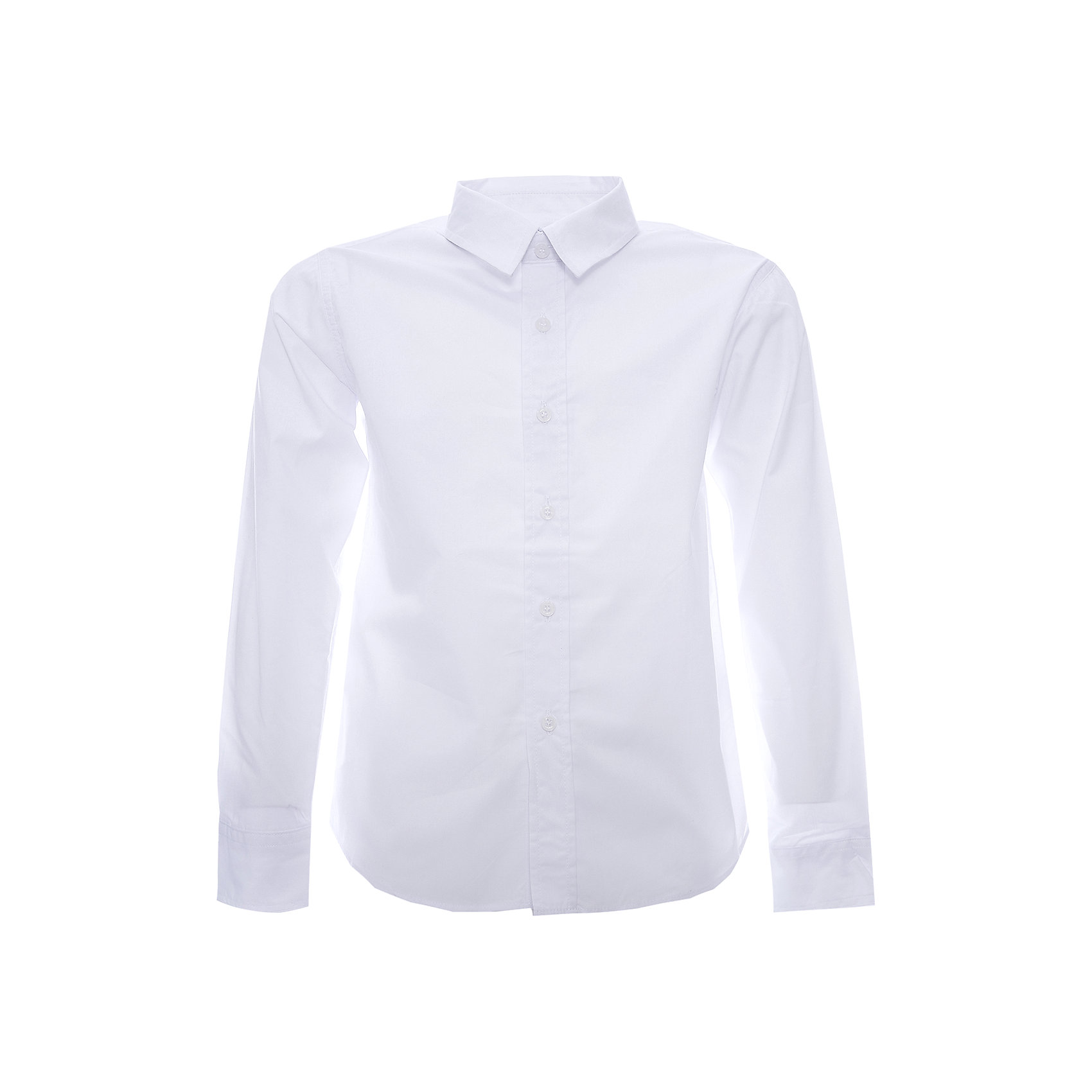 Рубашка для мальчика ScoolРубашка для мальчика от известной марки Scool.<br>* стильная сорочка с длинным рукавом<br>* отложной воротник классической формы<br>* застежка - пуговицы<br>* манжеты на одной пуговице<br>Состав:<br>60% хлопок, 40% полиэстер<br><br>Ширина мм: 174<br>Глубина мм: 10<br>Высота мм: 169<br>Вес г: 157<br>Цвет: белый<br>Возраст от месяцев: 96<br>Возраст до месяцев: 108<br>Пол: Мужской<br>Возраст: Детский<br>Размер: 134,128,152,158,164,140,146<br>SKU: 4140533