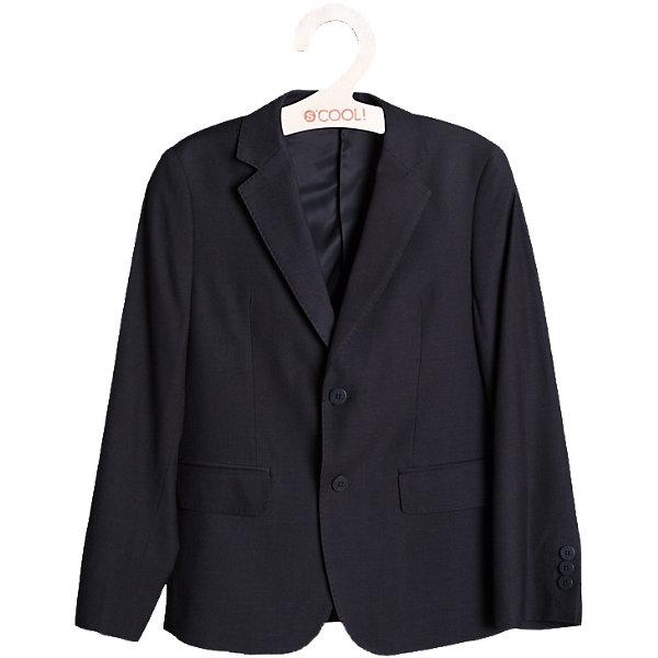Пиджак для мальчика ScoolКостюмы и пиджаки<br>Пиджак для мальчика от известной марки Scool.<br>* классический пиджак прямого кроя, выполненный из однотонного качественного материала<br> * отложной воротник с лацканом<br>* модель дополнена боковыми карманами с клапанами<br>* пиджак однобортный на двух пуговицах<br>* крой модели сохранил в себе все традиции производства классического пиджака<br>Состав:<br>Верх: 75% полиэстер, 35% вискоза, 8% шерсть,Подкладка: 65% полиэстер, 35% вискоза<br><br>Ширина мм: 356<br>Глубина мм: 10<br>Высота мм: 245<br>Вес г: 519<br>Цвет: серый<br>Возраст от месяцев: 144<br>Возраст до месяцев: 156<br>Пол: Мужской<br>Возраст: Детский<br>Размер: 158,146,128,140,152,134,164<br>SKU: 4140613