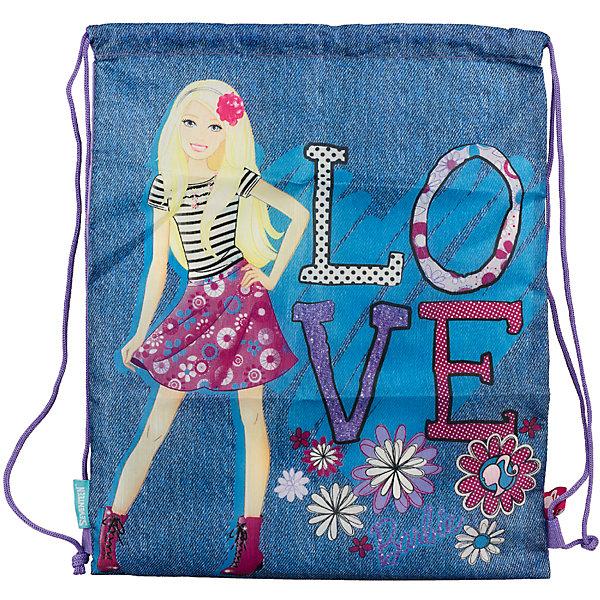 Сумка-рюкзак для обуви, BarbieМешки для обуви<br>Сумку-рюкзак удобно использовать для хранения и переноски сменной обуви. Мешок выполнен из плотного материала. Он затягивается сверху при помощи текстильных шнурков, которые фиксируются в нижней части, благодаря чему его можно носить за спиной, как рюкзак.<br><br>Дополнительная информация:<br><br>Размер: 43 х 34 х 1 см.<br><br>Сумку-рюкзак для обуви, Barbie можно купить в нашем магазине.<br>Ширина мм: 430; Глубина мм: 340; Высота мм: 10; Вес г: 55; Возраст от месяцев: 96; Возраст до месяцев: 108; Пол: Женский; Возраст: Детский; SKU: 4140859;