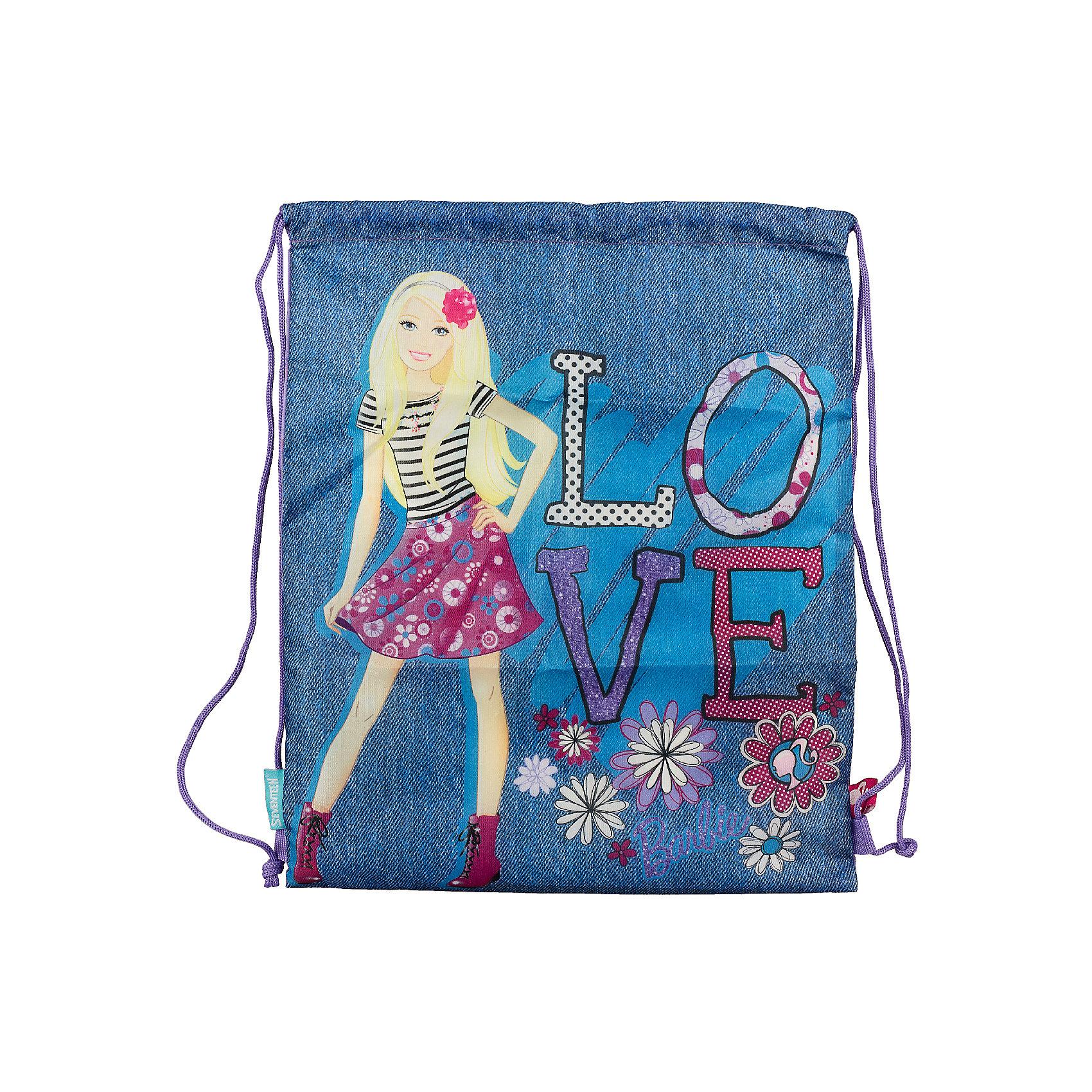 Академия групп Сумка-рюкзак для обуви, Barbie мешок для обуви академия групп transformers 43 34см trbb ut1 883