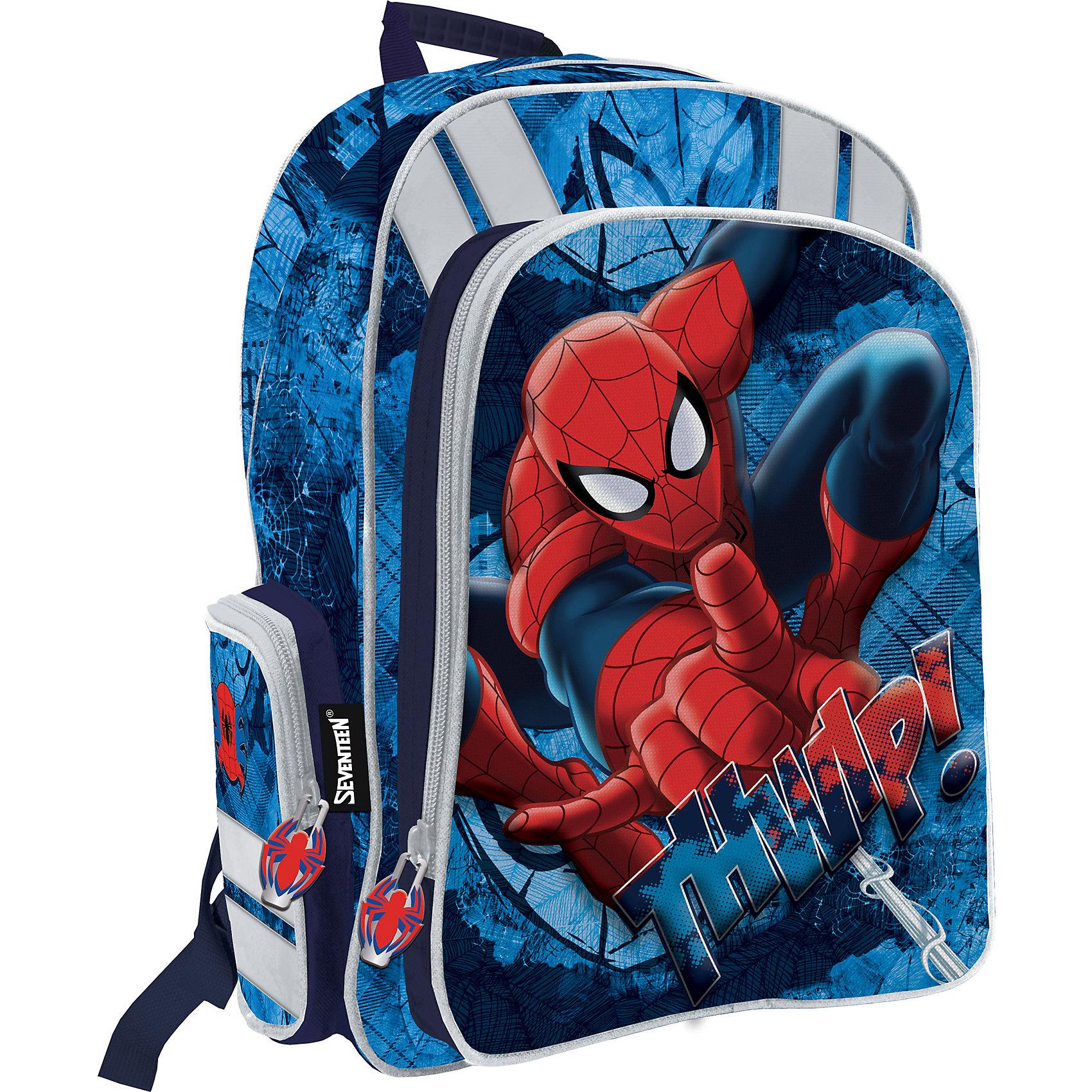 Академия групп Эргономичный рюкзак с EVA-спинкой, Человек-Паук академия групп рюкзак с эргономичной eva спинкой barbie