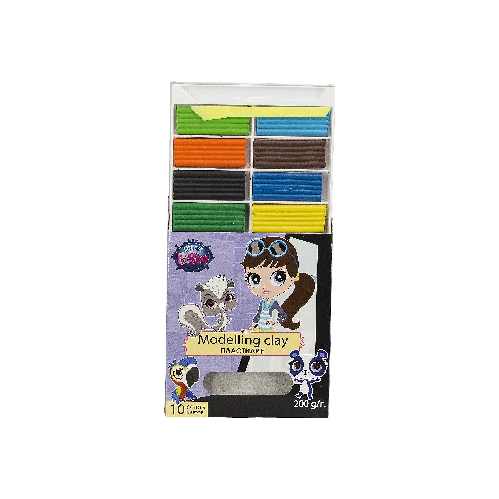Пластилин Littlest Pet Shop 10 цветовLittlest Pet Shop<br>Пластилин способствует развитию мелкой моторики, творческого и пространственного мышления ребенка. Набор пластилина состоит из 10 ярких цветов, 20 гр. на каждый цвет. С ним приятно работать и воплощать свои творческие фантазии. Пластилин упакован в картонную коробку.<br><br>Дополнительная информация:<br><br>Размер: 15,2 х 13,5 х 2 см. Пластилин, 10 цветов. Вес - 20 г на каждый цвет.<br><br>Пластилин Littlest Pet Shop (Маленький зоомагазин) 10 цветов можно купить в нашем магазине.<br><br>Ширина мм: 152<br>Глубина мм: 135<br>Высота мм: 20<br>Вес г: 235<br>Возраст от месяцев: 48<br>Возраст до месяцев: 84<br>Пол: Женский<br>Возраст: Детский<br>SKU: 4140903