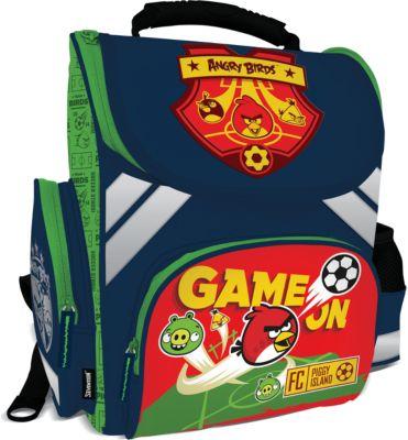Академия групп Школьный ранец Angry Birds с эргономической спинкой