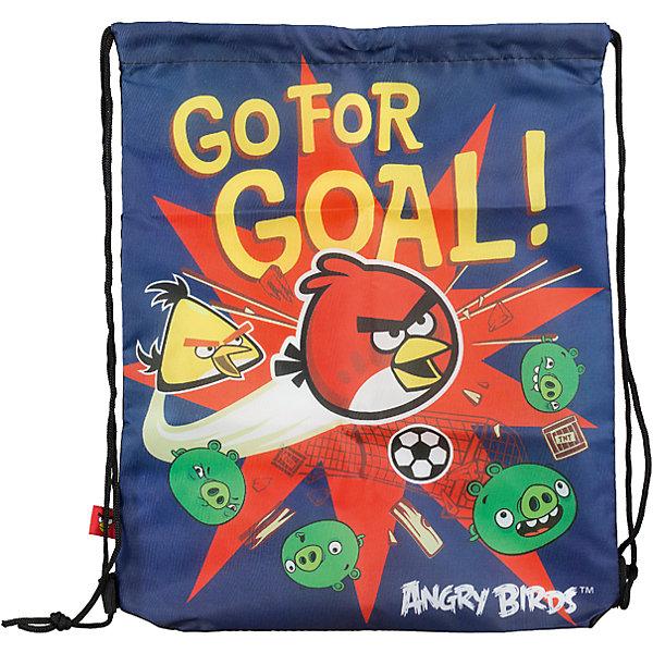Сумка-рюкзак для обуви Angry BirdsМешки для обуви<br>Сумку-рюкзак удобно использовать для хранения и переноски сменной обуви. Мешок выполнен из плотного материала. Он затягивается сверху при помощи текстильных шнурков, которые фиксируются в нижней части, благодаря чему его можно носить за спиной, как рюкзак.<br><br>Дополнительная информация:<br><br>Размер: 43 х 34 х 1 см.<br>Мешок для обуви.<br><br>Сумку-рюкзак для обуви Angry Birds (Энгри Бердс) можно купить в нашем магазине.<br>Ширина мм: 430; Глубина мм: 340; Высота мм: 10; Вес г: 52; Возраст от месяцев: 96; Возраст до месяцев: 108; Пол: Мужской; Возраст: Детский; SKU: 4140978;