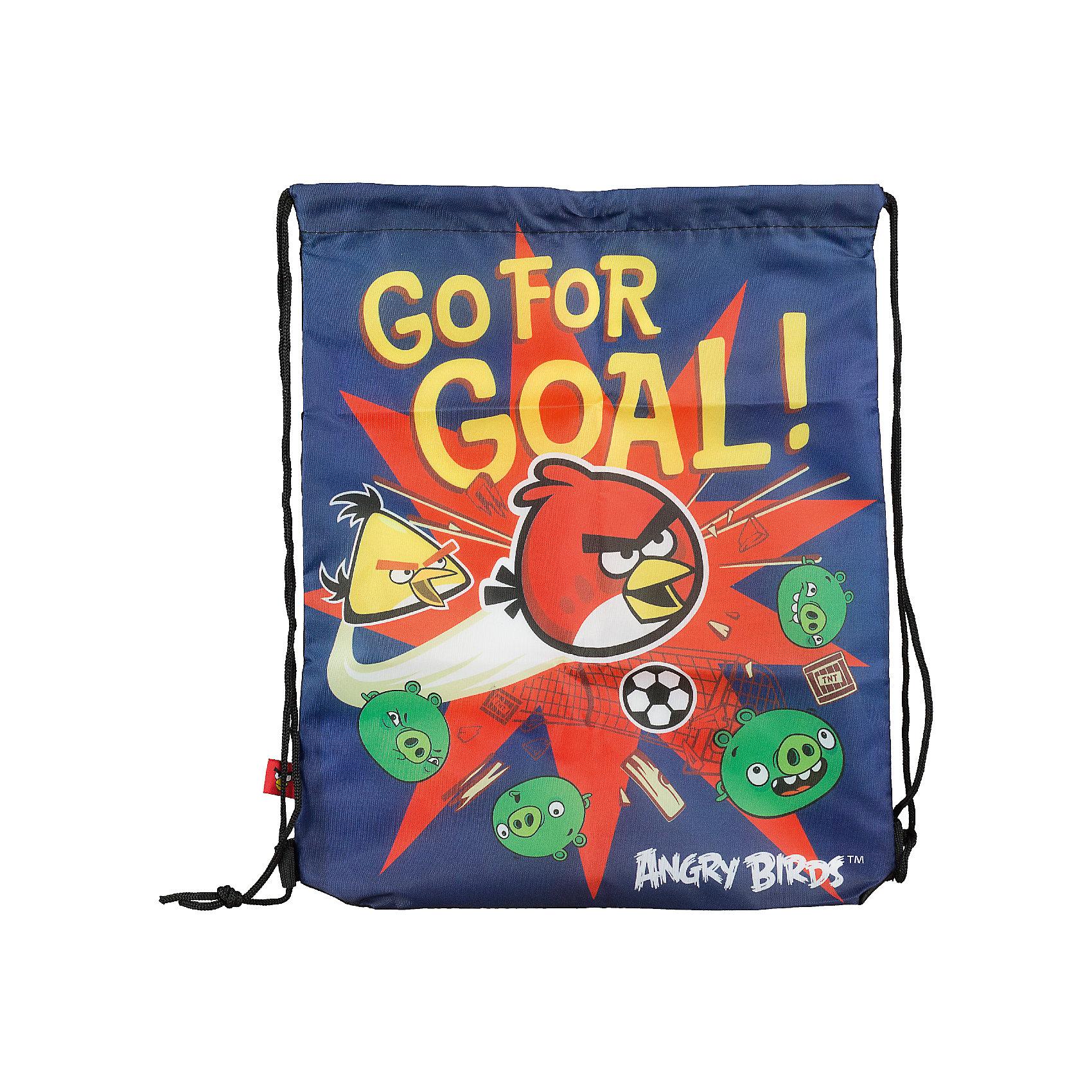 Академия групп Сумка-рюкзак для обуви Angry Birds академия групп сумка рюкзак для обуви холодное сердце