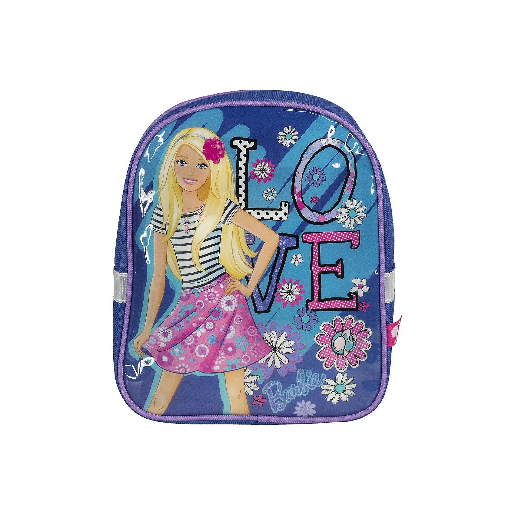 Школьный рюкзак BarbieBarbie<br>Рюкзак - это незаменимая вещь для прогулок и повседневных дел, в нем можно разместить самые важные вещи. Пусть у Вашего малыша тоже будет свой собственный рюкзак. У модели одно основное отделение на молнии, а лямки можно свободно регулировать по длине в зависимости от роста ребенка. Передняя панель рюкзака украшена ярким изображением любимых героев.<br><br>Дополнительная информация:<br><br>Размер 27 х 21,5 х 9,5 см.<br><br>Рюкзак Barbie (Барби) 27*21,5*9,5 см можно купить в нашем магазине.<br><br>Ширина мм: 270<br>Глубина мм: 215<br>Высота мм: 95<br>Вес г: 184<br>Возраст от месяцев: 72<br>Возраст до месяцев: 144<br>Пол: Женский<br>Возраст: Детский<br>SKU: 4140989
