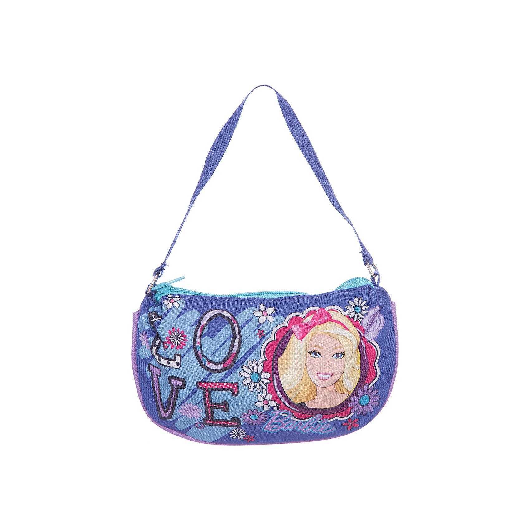 Сумка-клатч, BarbieДетская сумочка-клатч - это одновременно стильная и удобная вещь. Она компактна и не занимает много места, в ней можно разместить все самые необходимые вещи. Сумочка закрывается на молнию и снабжена текстильной ручкой.<br><br>Дополнительная информация:<br><br>Одно отделение на молнии.<br>Размер 12,5 х 20 х 1 см.<br><br>Сумку-клатч Barbie (Барби) 12,5*20*1 см можно купить в нашем магазине.<br><br>Ширина мм: 125<br>Глубина мм: 200<br>Высота мм: 10<br>Вес г: 40<br>Возраст от месяцев: 96<br>Возраст до месяцев: 108<br>Пол: Женский<br>Возраст: Детский<br>SKU: 4140997