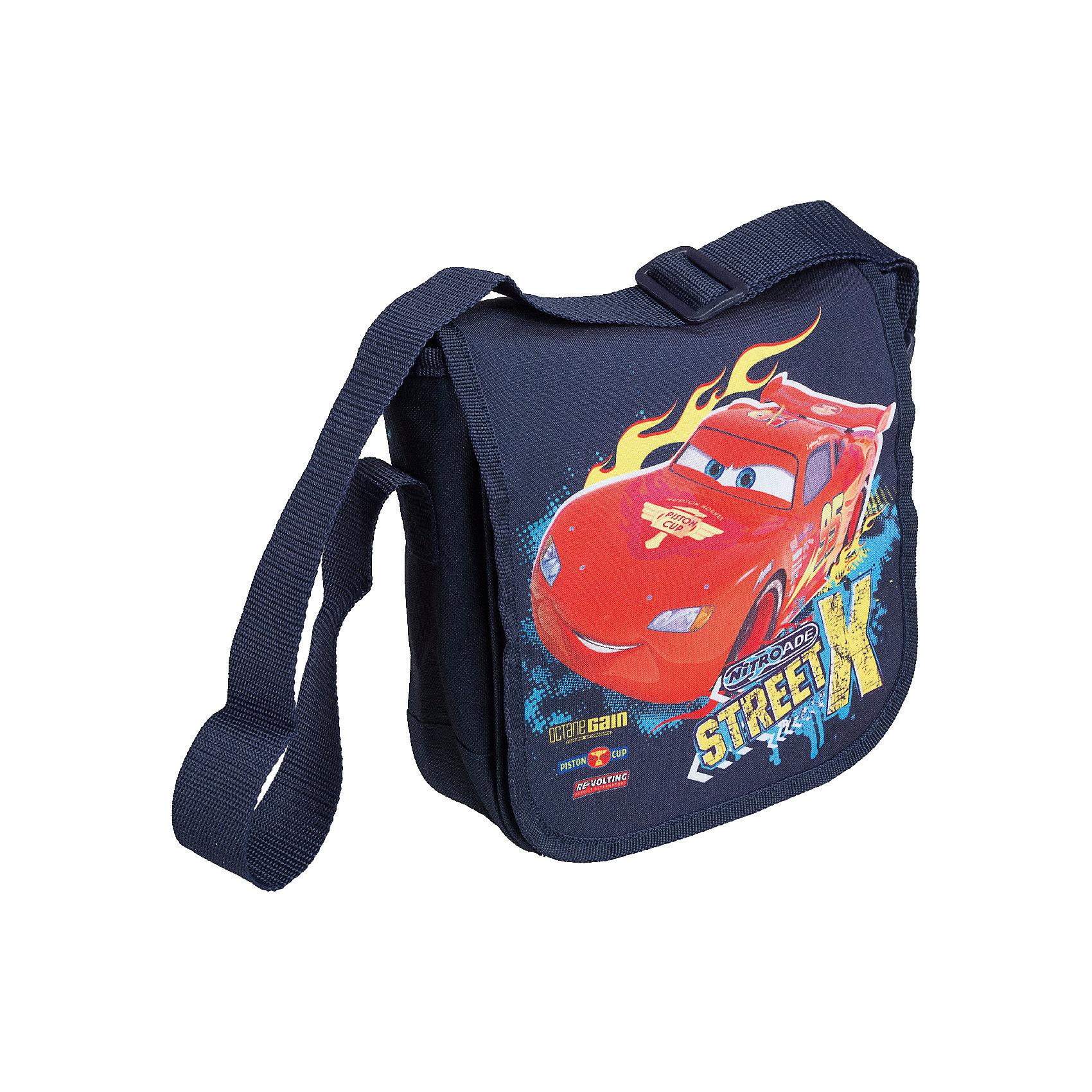 Сумка, ТачкиСтильная детская сумочка с изображением любимых героев, несомненно понравится Вашему ребенку. С ней можно отправиться на прогулку и взять с собой все самое необходимое. Сумка закрывается на клапан на липучке. Лямка свободно регулируется по длине, обеспечивая дополнительный комфорт. Модель выполнена из плотного и износостойкого полиэстера.<br><br>Дополнительная информация:<br><br>Одно отделение, перекидной клапан на липучке.<br>Размер 21,5 х 22 х 7,5 см.<br><br>Сумку  Тачки (Cars) 21,5*22*7,5 см можно купить в нашем магазине.<br><br>Ширина мм: 215<br>Глубина мм: 220<br>Высота мм: 75<br>Вес г: 166<br>Возраст от месяцев: 48<br>Возраст до месяцев: 84<br>Пол: Мужской<br>Возраст: Детский<br>SKU: 4141000