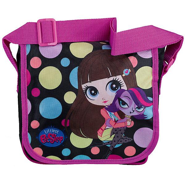 Сумка Littlest Pet Shop 21,5*22*7,5 смДорожные сумки и чемоданы<br>Стильная детская сумочка с изображением любимых героев, несомненно понравится Вашему ребенку. С ней можно отправиться на прогулку и взять с собой все самое необходимое. Сумка закрывается на клапан на липучке. Лямка свободно регулируется по длине, обеспечивая дополнительный комфорт. Модель выполнена из плотного и износостойкого полиэстера.<br><br>Дополнительная информация:<br><br>Одно отделение, перекидной клапан на липучке.<br>Размер 21,5 х 22 х 7,5 см.<br><br>Сумку Littlest Pet Shop (Маленький зоомагазин) 21,5*22*7,5 см можно купить в нашем магазине.<br>Ширина мм: 215; Глубина мм: 220; Высота мм: 75; Вес г: 168; Возраст от месяцев: 48; Возраст до месяцев: 84; Пол: Женский; Возраст: Детский; SKU: 4141001;