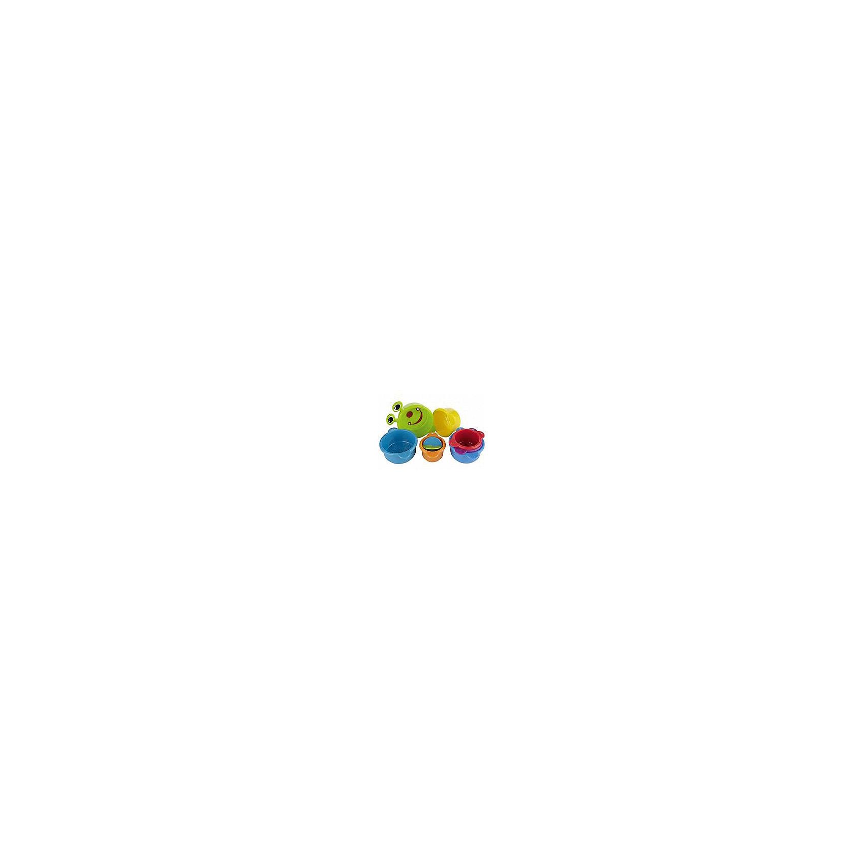Игрушка для ванной Пирамидка-Гусеница, Munchkin от myToys