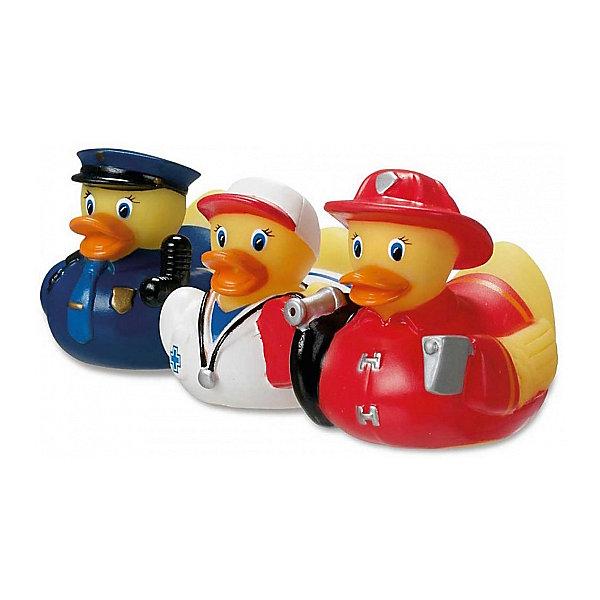 Игрушка для ванной Уточки, MunchkinРезиновые игрушки<br>Игрушка для ванной Уточки, Munchkin (Манчкин) – эта игрушка доставит малышу немало веселых минут во время купания!<br>Игрушки для ванной Уточки Munchkin (Манчкин) сделают процесс купания веселым и разнообразным. Игрушки имеют эргономичную форму и удобны для маленьких детских ручек. Малыш легко сможет схватить мокрую игрушку. Веселые уточки могут не только плавать, но и разбрызгивать воду.<br><br>Дополнительная информация:<br><br>- В комплекте: 3 уточки в разных костюмчиках<br>- В ассортименте: уточки Спасатели , уточки Спортсменки<br>- Материал: ПВХ<br>- Размер упаковки: 13 х 8 х 17 см.<br>- Вес: 100 г.<br>- ВНИМАНИЕ! Данный товар представлен в ассортименте. К сожалению, предварительный выбор невозможен. При заказе нескольких единиц данного товара, возможно получение одинаковых<br><br>Игрушку для ванной Уточки, Munchkin (Манчкин) можно купить в нашем интернет-магазине.<br><br>Ширина мм: 130<br>Глубина мм: 80<br>Высота мм: 170<br>Вес г: 100<br>Возраст от месяцев: 9<br>Возраст до месяцев: 36<br>Пол: Унисекс<br>Возраст: Детский<br>SKU: 4142375