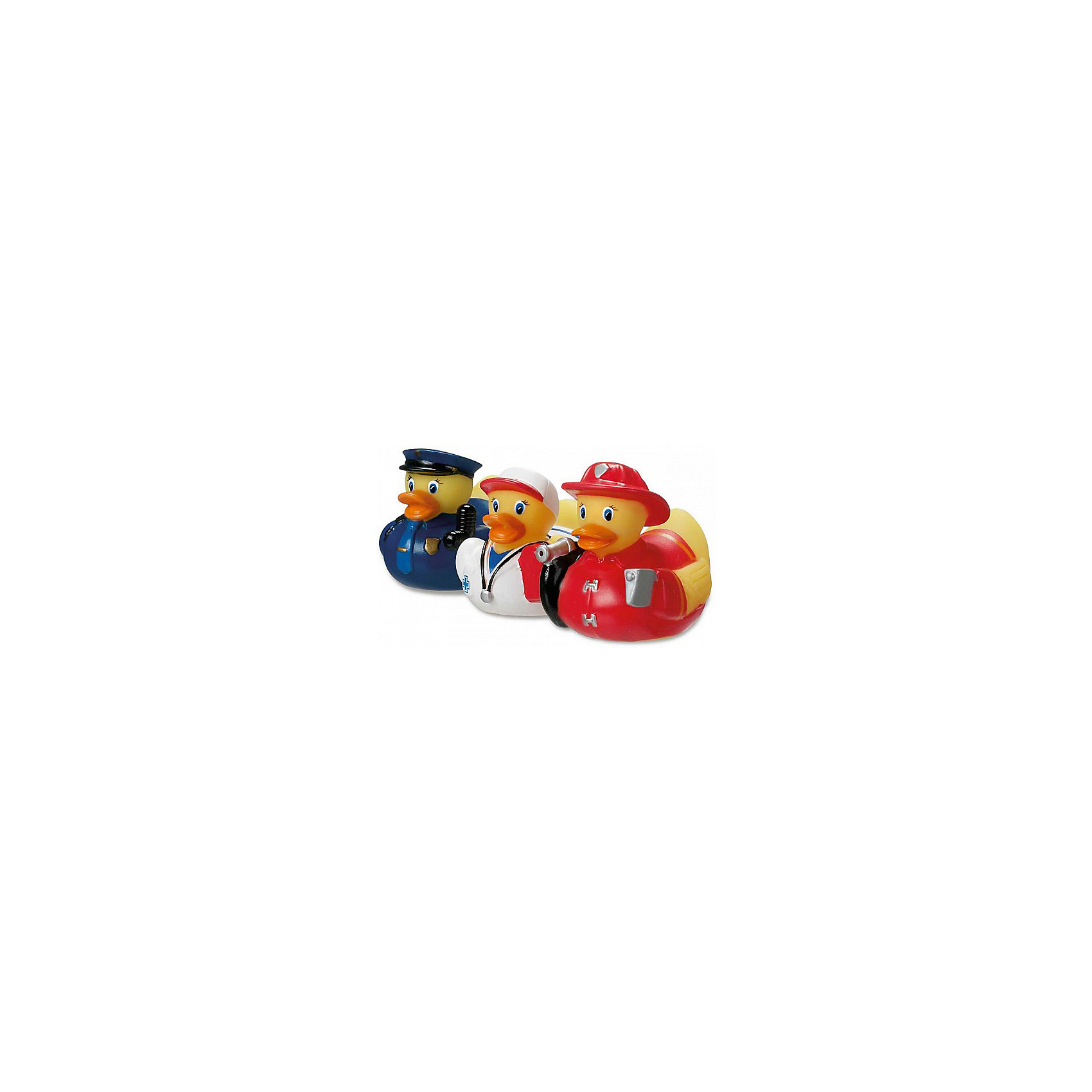 Игрушка для ванной Уточки, MunchkinИгрушка для ванной Уточки, Munchkin (Манчкин) – эта игрушка доставит малышу немало веселых минут во время купания!<br>Игрушки для ванной Уточки Munchkin (Манчкин) сделают процесс купания веселым и разнообразным. Игрушки имеют эргономичную форму и удобны для маленьких детских ручек. Малыш легко сможет схватить мокрую игрушку. Веселые уточки могут не только плавать, но и разбрызгивать воду.<br><br>Дополнительная информация:<br><br>- В комплекте: 3 уточки в разных костюмчиках<br>- В ассортименте: уточки Спасатели , уточки Спортсменки<br>- Материал: ПВХ<br>- Размер упаковки: 13 х 8 х 17 см.<br>- Вес: 100 г.<br>- ВНИМАНИЕ! Данный товар представлен в ассортименте. К сожалению, предварительный выбор невозможен. При заказе нескольких единиц данного товара, возможно получение одинаковых<br><br>Игрушку для ванной Уточки, Munchkin (Манчкин) можно купить в нашем интернет-магазине.<br><br>Ширина мм: 130<br>Глубина мм: 80<br>Высота мм: 170<br>Вес г: 100<br>Возраст от месяцев: 9<br>Возраст до месяцев: 36<br>Пол: Унисекс<br>Возраст: Детский<br>SKU: 4142375