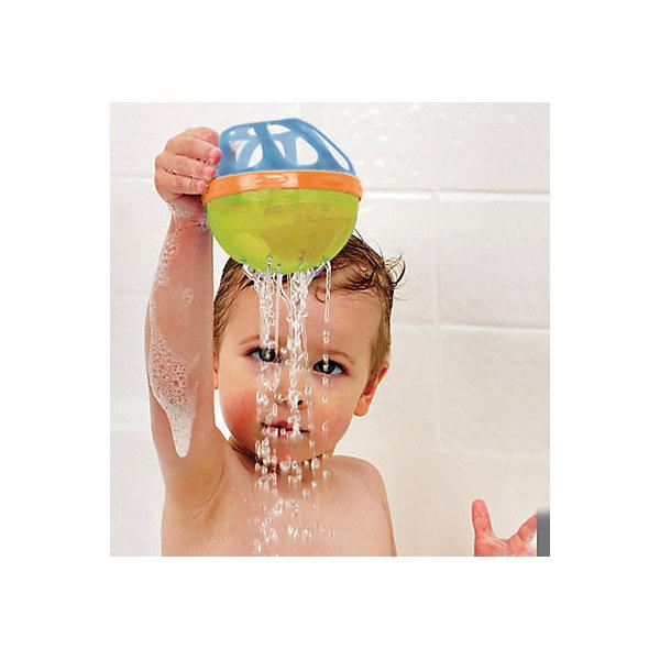 Игрушки для ванной Мячик, MunchkinИгрушки для купания<br>Игрушки для ванной Мячик, Munchkin (Манчкин) – эта игрушка доставит малышу немало веселых минут во время купания!<br>Игрушка для ванны Munchkin Мячик привлечет внимание вашего малыша и превратит купание в веселую игру. Этот мячик с погремушкой внутри можно катать по поверхности, сжимать, крутить, бросать. Он хорошо держится на воде. Мячик имеет мягкий корпус с различными отверстиями. Внутри находится пластиковый шарик с разноцветными элементами, которые гремят во время тряски. Игрушка для ванны Munchkin (Манчкин) Мячик способствует развитию воображения, цветового восприятия, тактильных ощущений и мелкой моторики рук.<br><br>Дополнительная информация:<br><br>- В комплекте: 1 игрушка<br>- Цвет в ассортименте<br>- Материал: пластик, ПВХ (поливинилхлорид)<br>- Диаметр: 9 см.<br>- Размер упаковки: 10 х 10 х 20 см.<br>- Вес: 100 г.<br>- ВНИМАНИЕ! Данный товар представлен в ассортименте. К сожалению, предварительный выбор невозможен. При заказе нескольких единиц данного товара, возможно получение одинаковых<br><br>Игрушку для ванной Мячик, Munchkin (Манчкин) можно купить в нашем интернет-магазине.<br>Ширина мм: 100; Глубина мм: 100; Высота мм: 200; Вес г: 100; Возраст от месяцев: 6; Возраст до месяцев: 36; Пол: Унисекс; Возраст: Детский; SKU: 4142380;