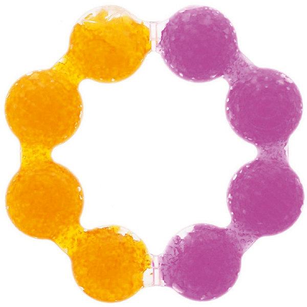 Игрушка  прорезыватель Цветок , Munchkin, рыжий-розовый